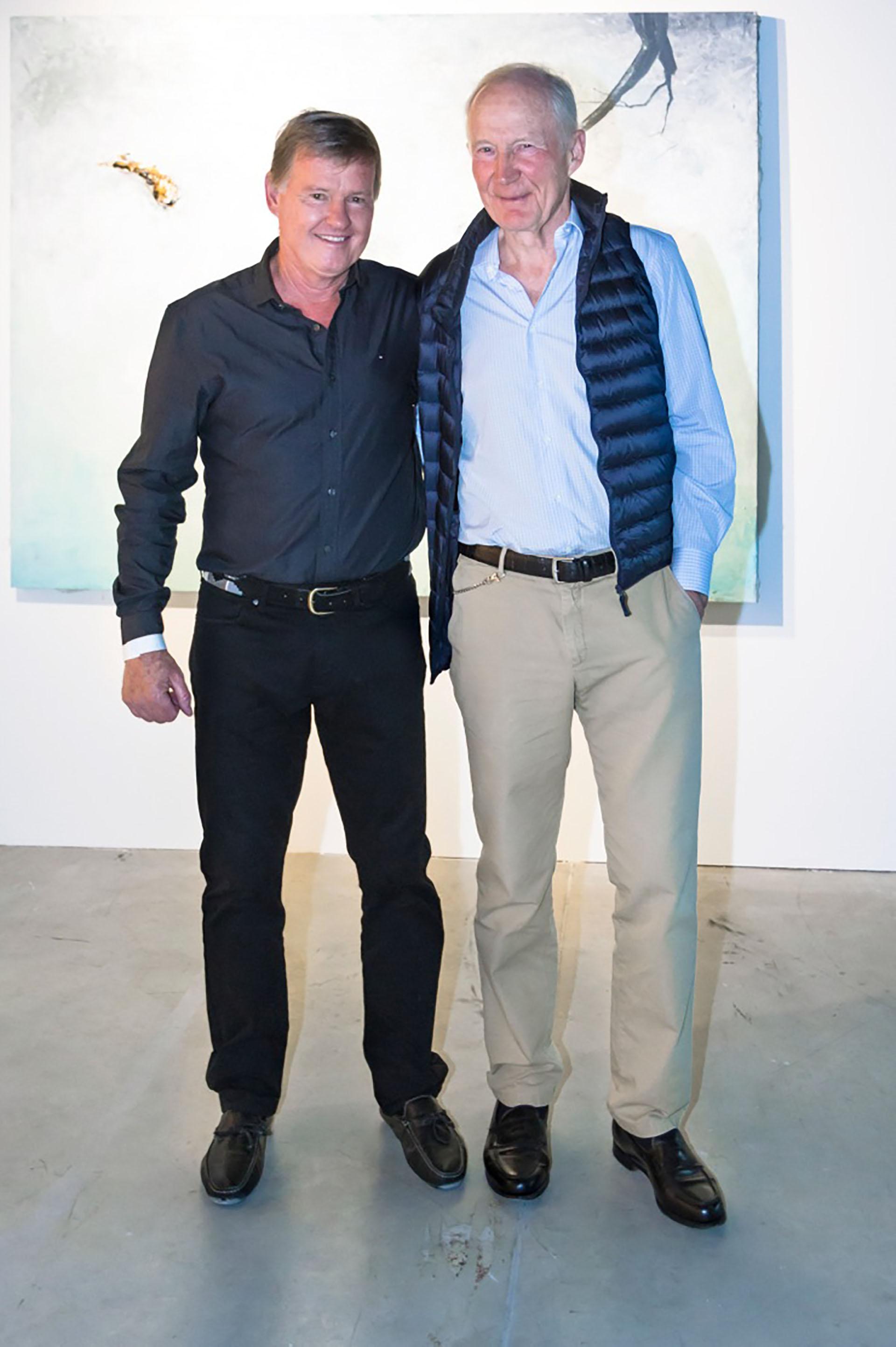 """El """"Colo"""" Gattiker y el príncipe Eric Sturdza"""