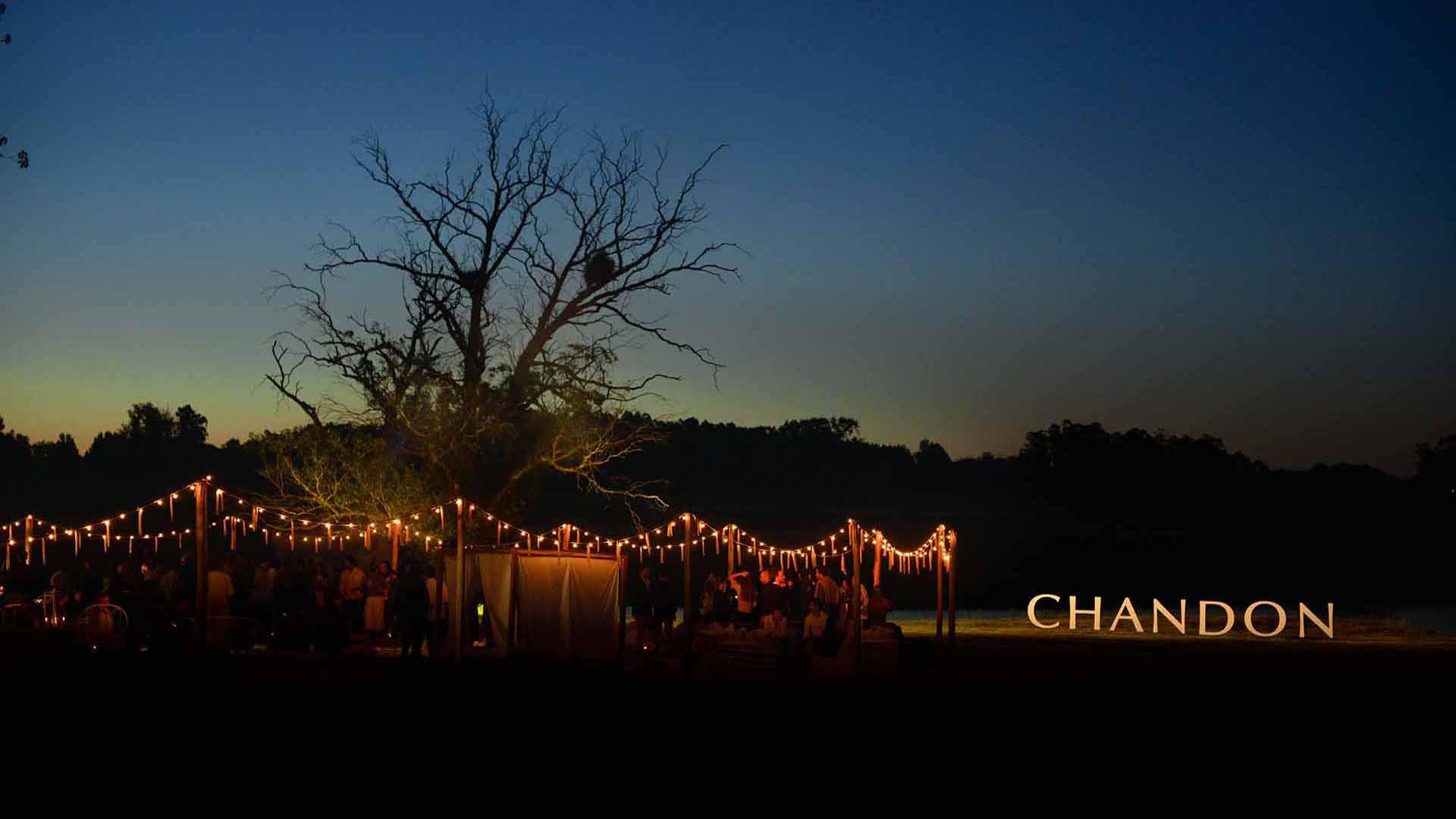 """La primera """"Chandon at Home"""" del año se realizó en una chacra en Manantiales"""
