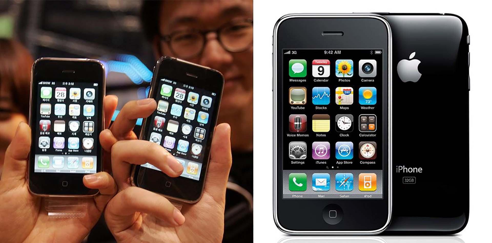 8318fb4a7cb La evolución del iPhone - Infobae