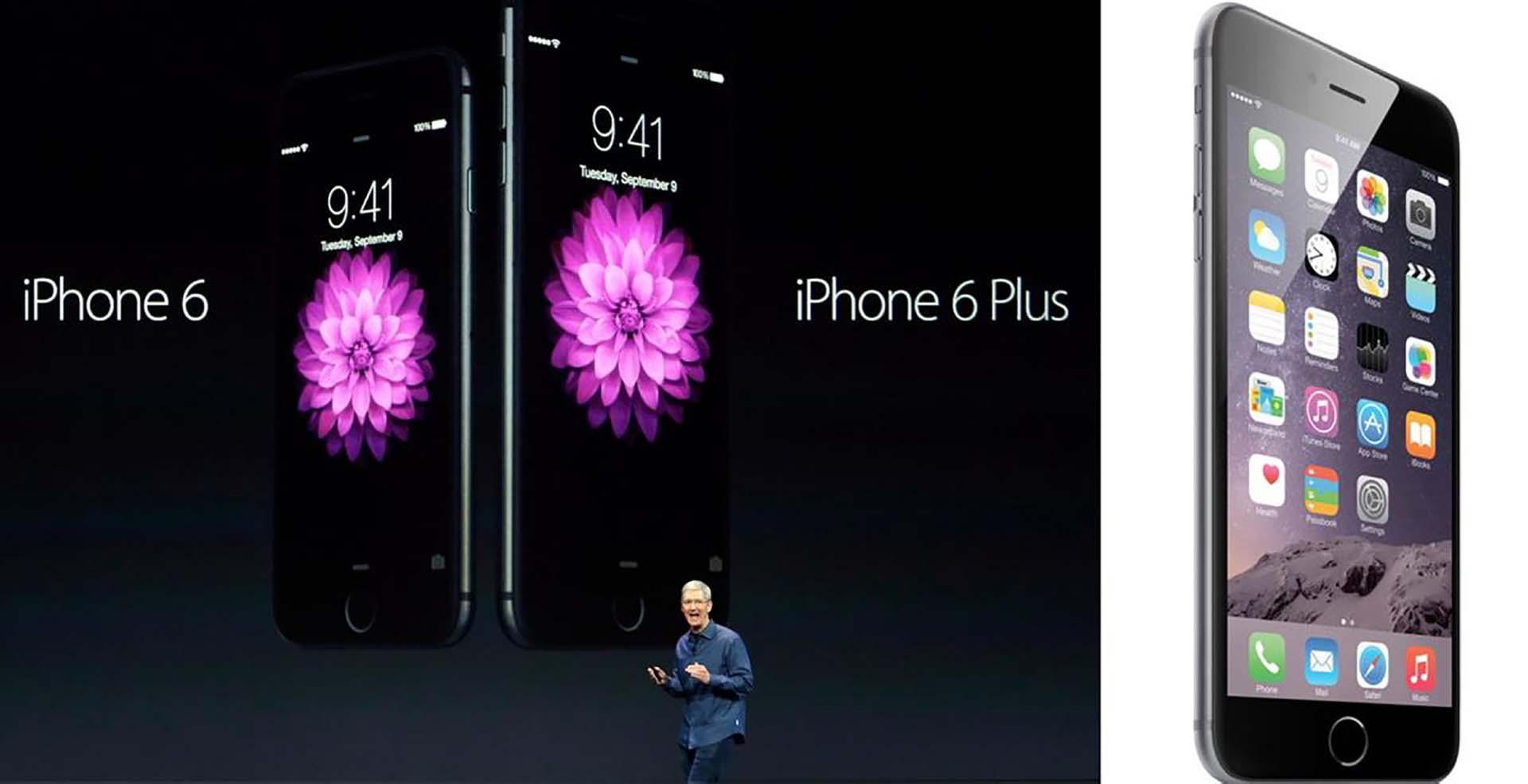 c81c64b22b6 Ambos modelos llegaron a las tiendas el 20 de septiembre de 2013. Con 2  modelos para elegir, era la primera vez que Apple ofrecía un teléfono ...