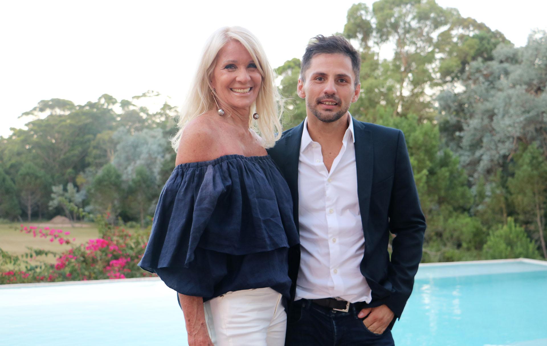 Evelyn Scheidl y Fabio Toñanez