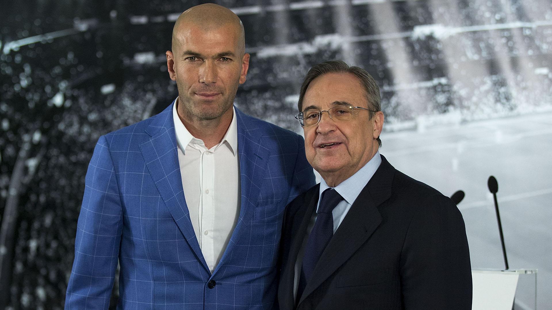 Zinedine Zidane fue contactado para volver al Real Madrid (Getty Images)