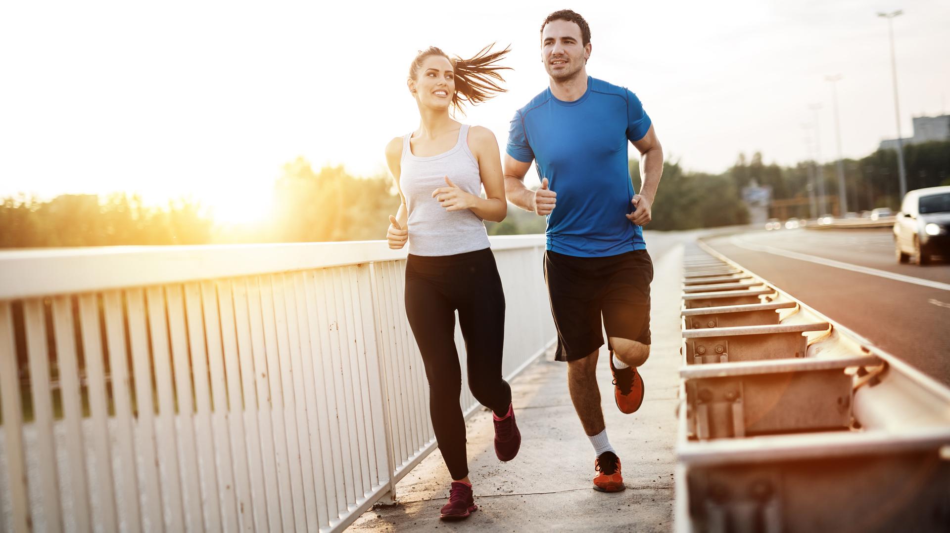 Iniciar la actividad antes de las 10 am o después de las 20 pm es el horario idea para evitar inconvenientes de salud (Getty)