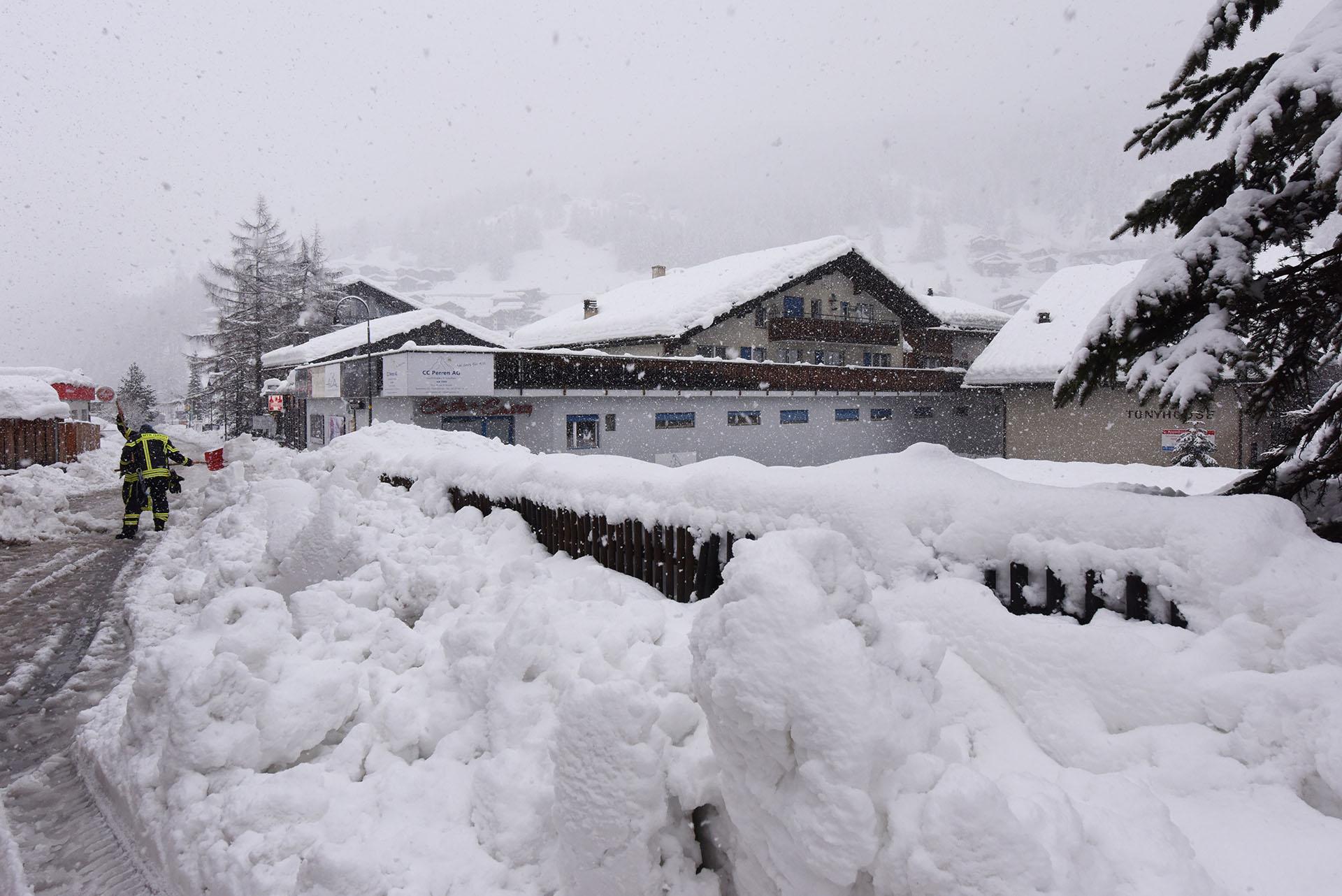 Los turistas debieron permanecer dos días en el centro de ski(AFP)