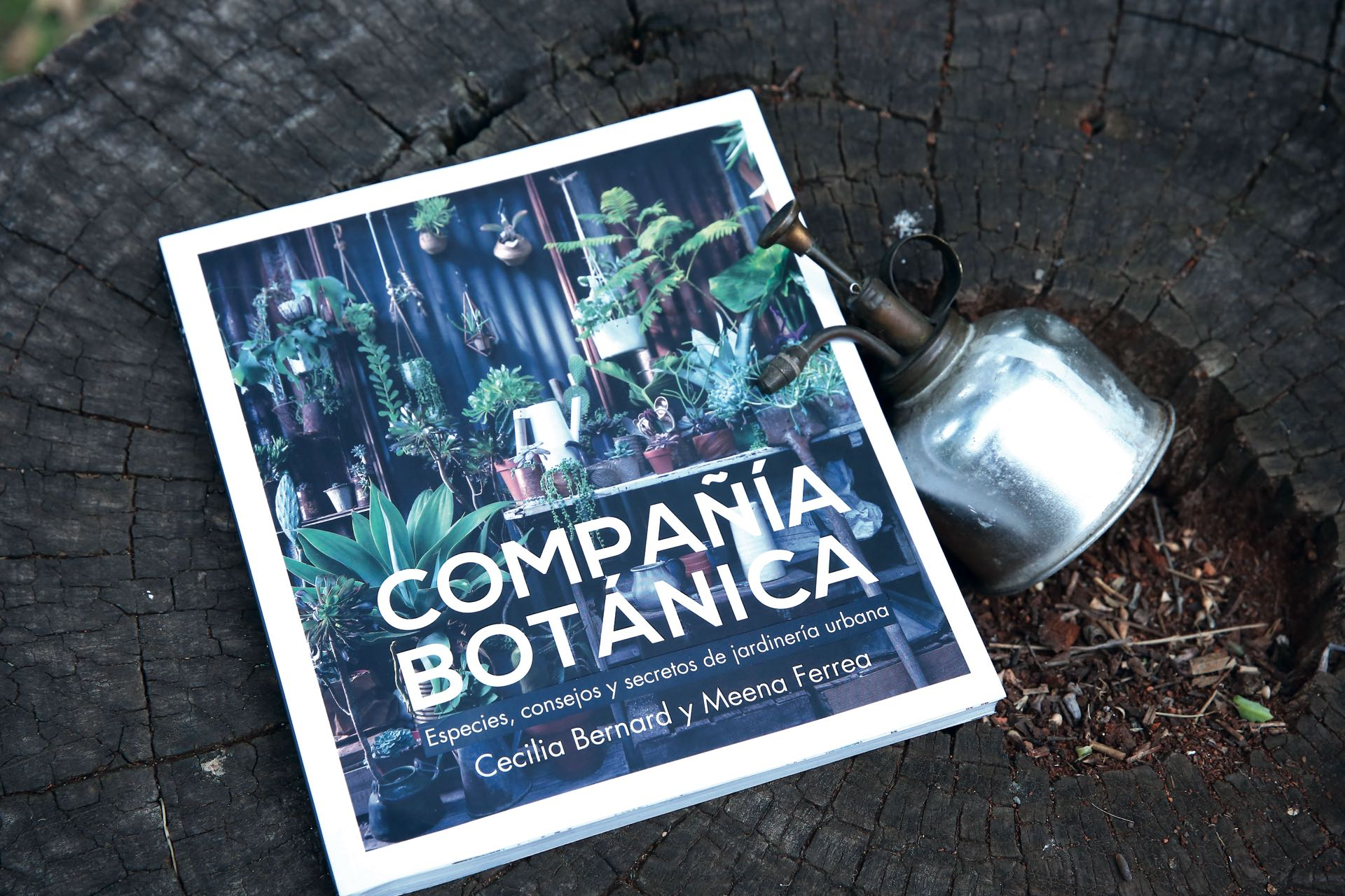 Compañía botánica (Ed.Grijalbo). Foto Maxi Didari/ Para Ti