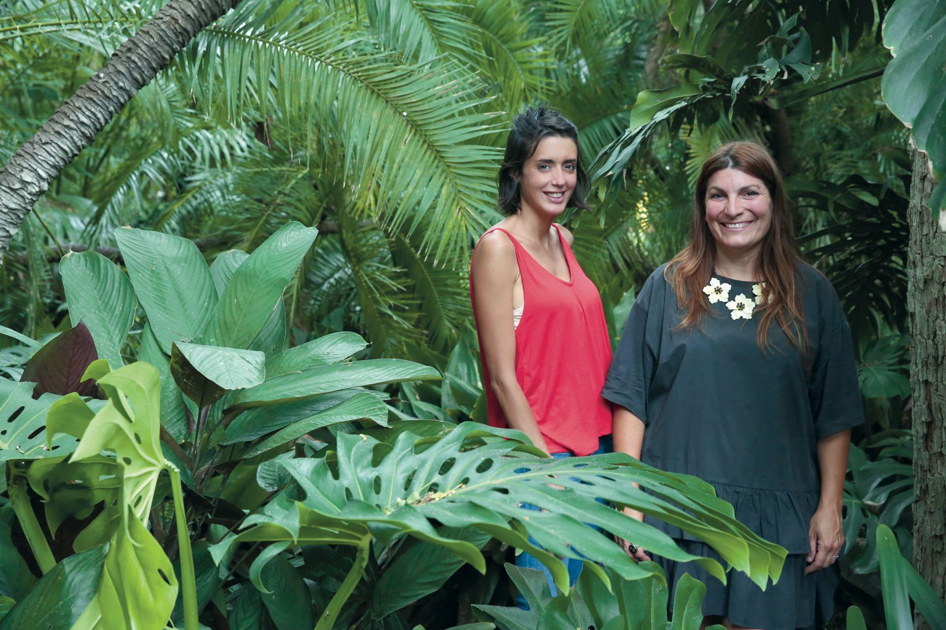 Meena Ferrea y Cecilia Bernard.Foto Maxi Didari/ Para Ti