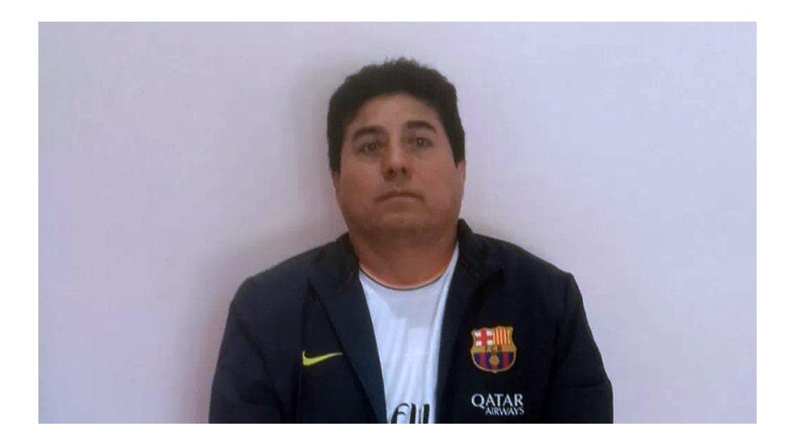 """""""Marcos"""" Estrada González, hoy preso en Marcos Paz."""