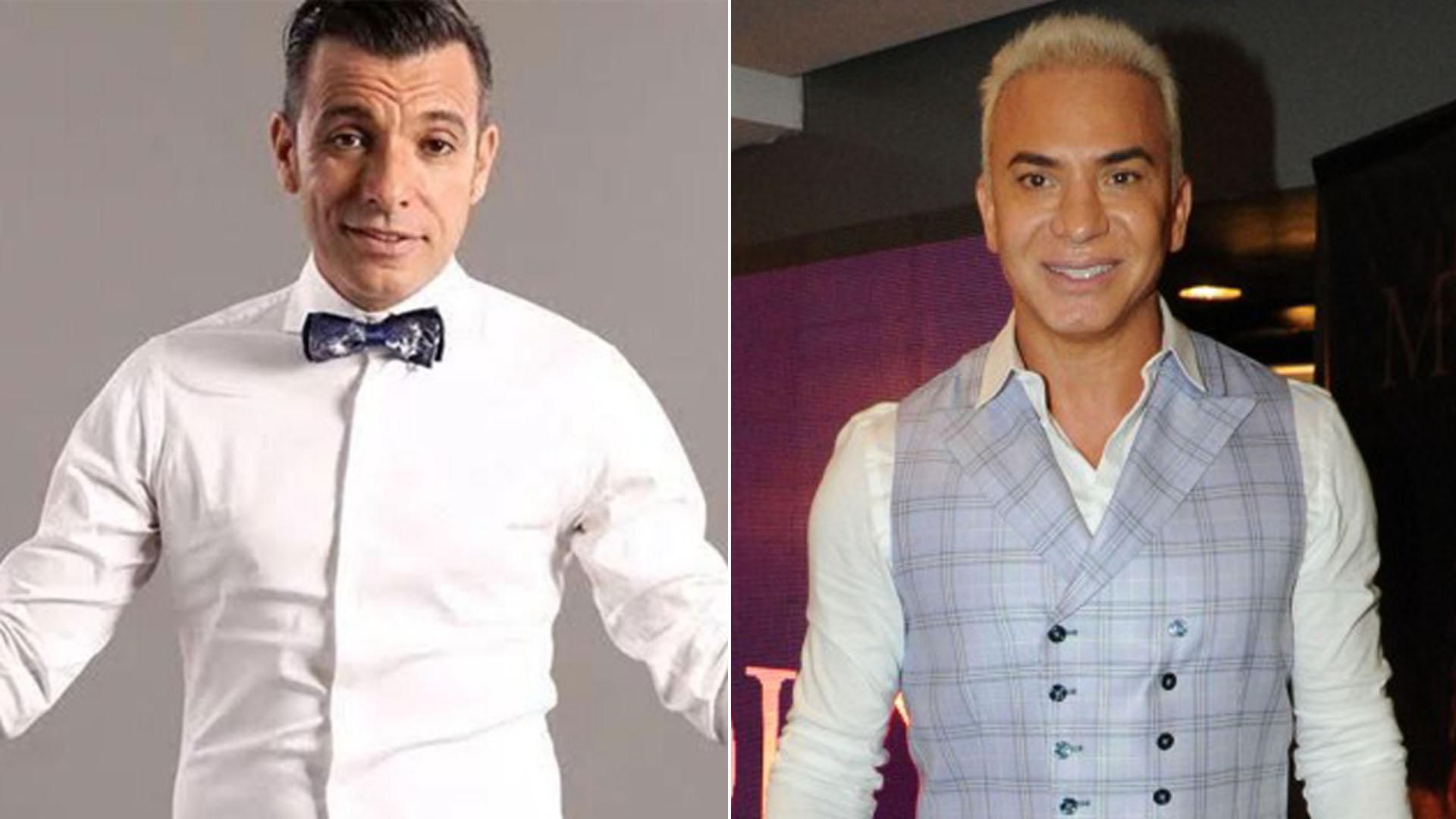 Martín Bossi y Flavio Mendoza