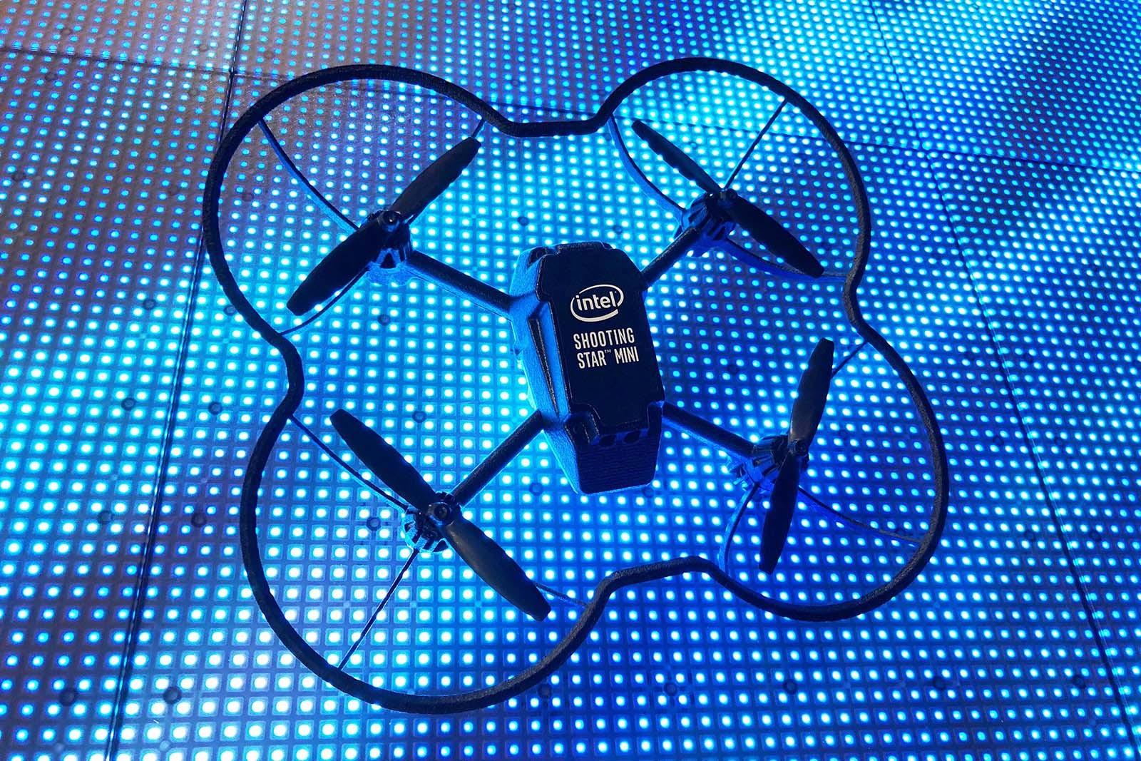 Intel mini drone Shooting Star