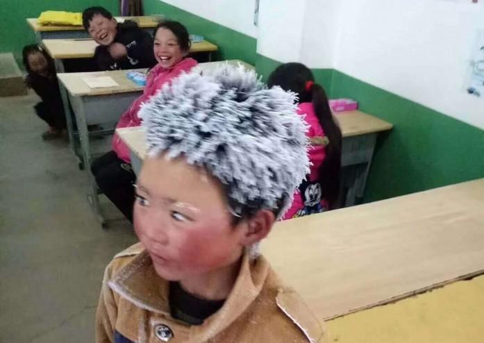 La imagen viral de Wang Manfu