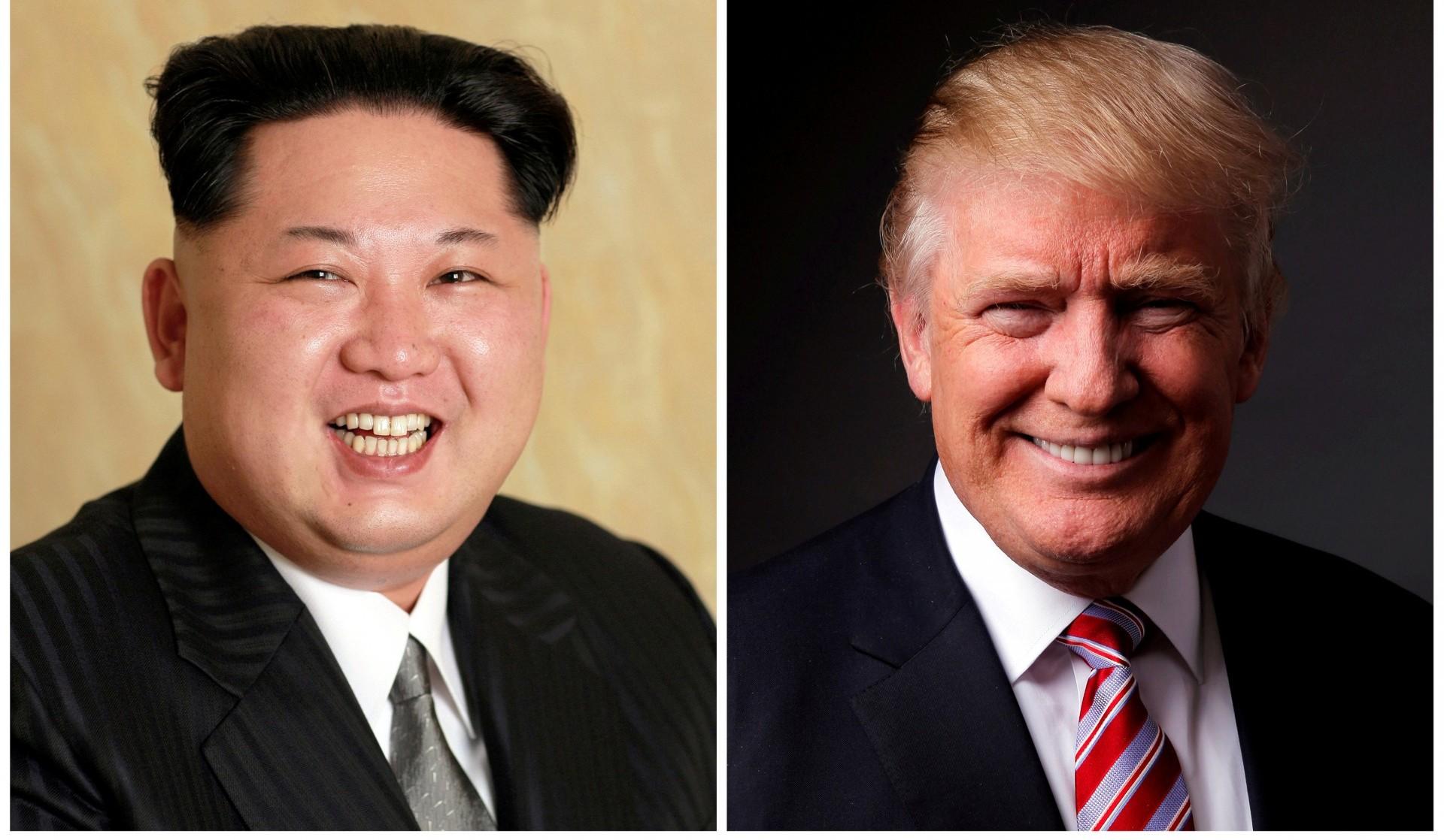 El dictador de Corea del Norte Kim Jong-un y el presidente de Estados Unidos, Donald Trump (Reuters)