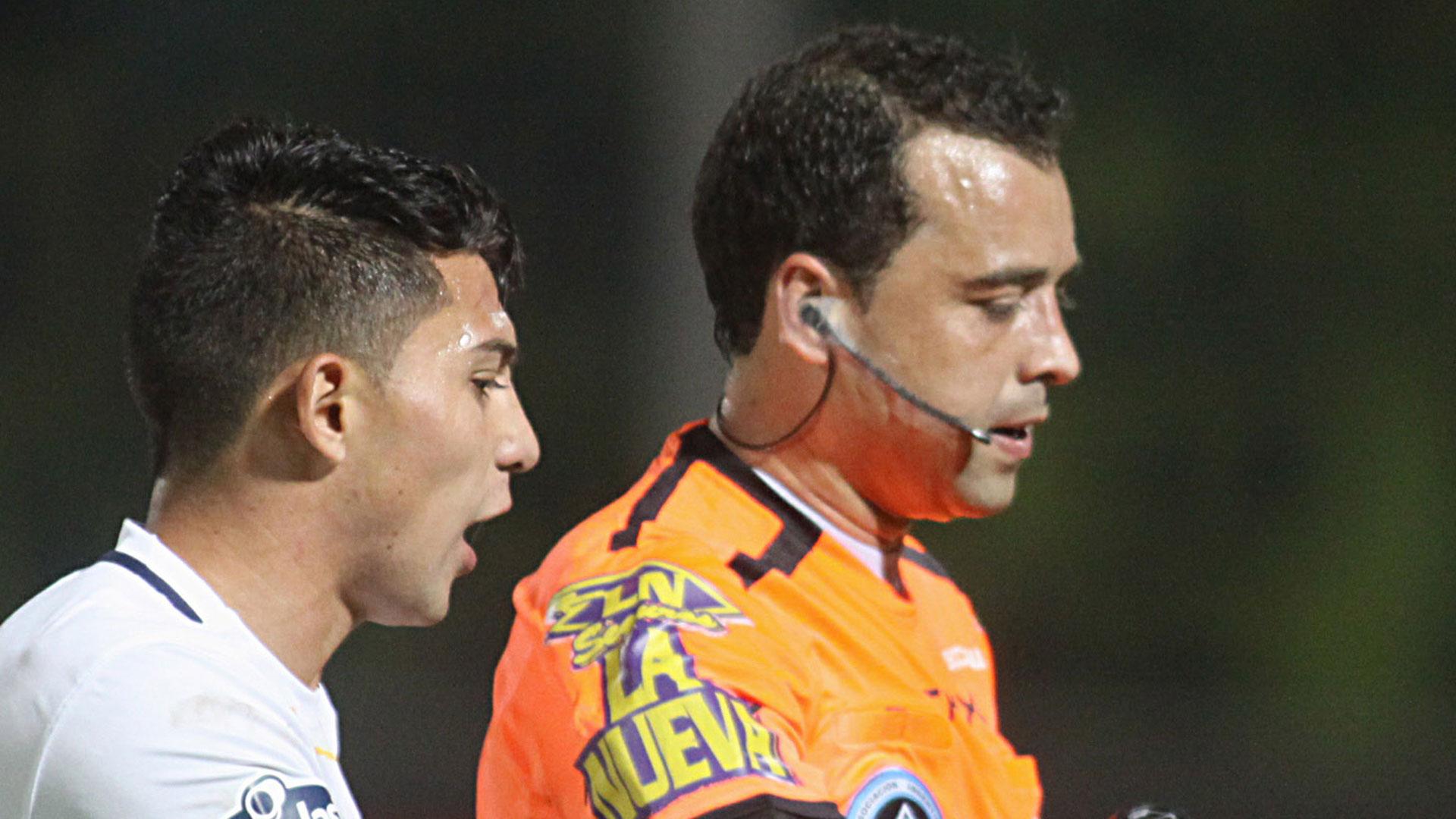 Ceballos quedó marcado por su actuación en la final de la Copa Argentina 2015 (NA)