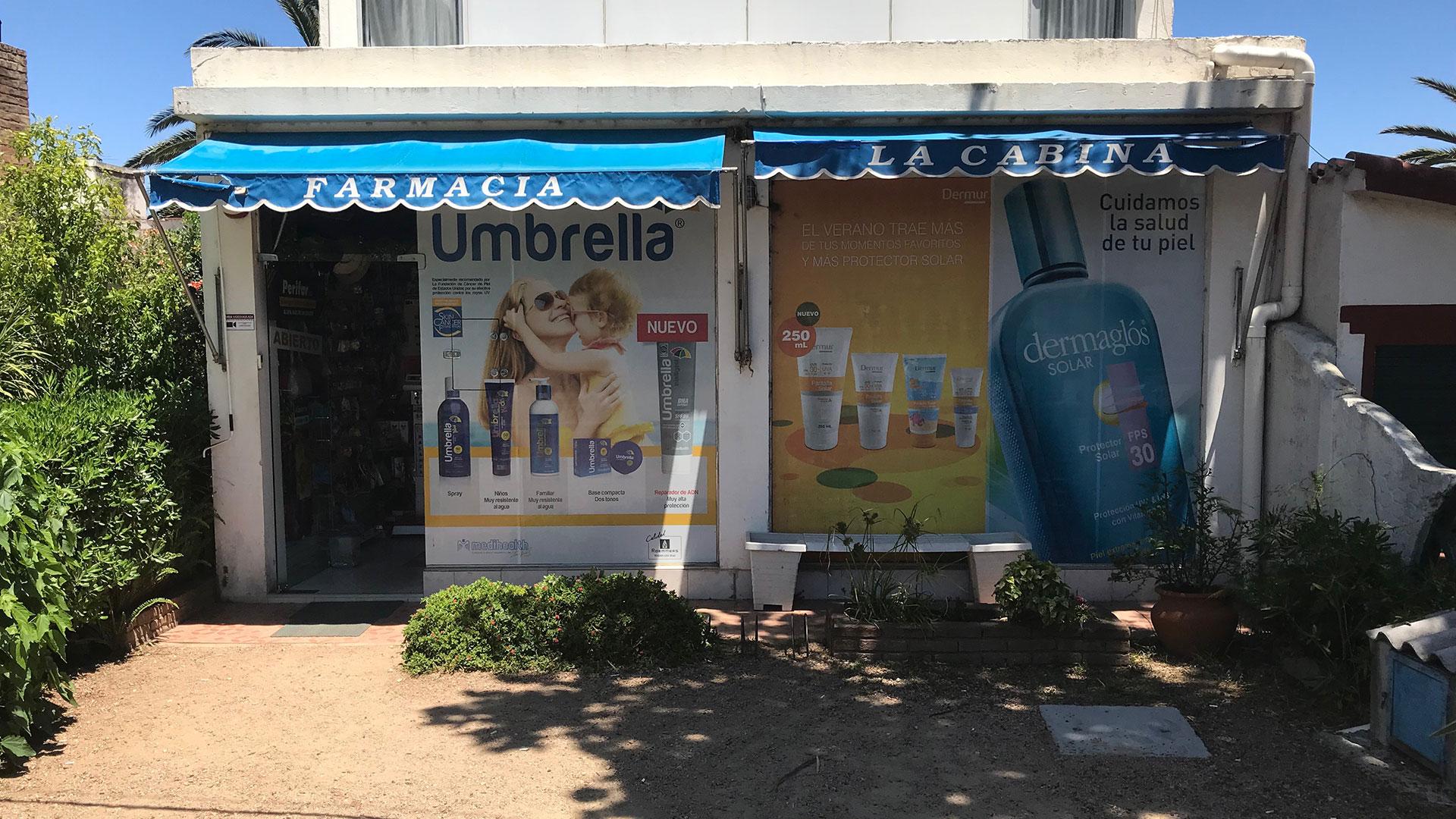 La Cabina, la única farmacia que vende cannabis en Maldonado (Infobae)