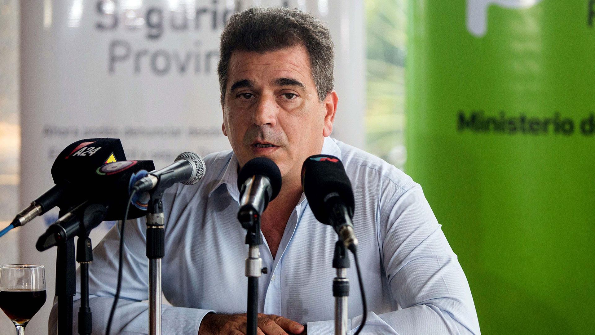 El ministro de Seguridad, Cristian Ritondo (foto de archivo)