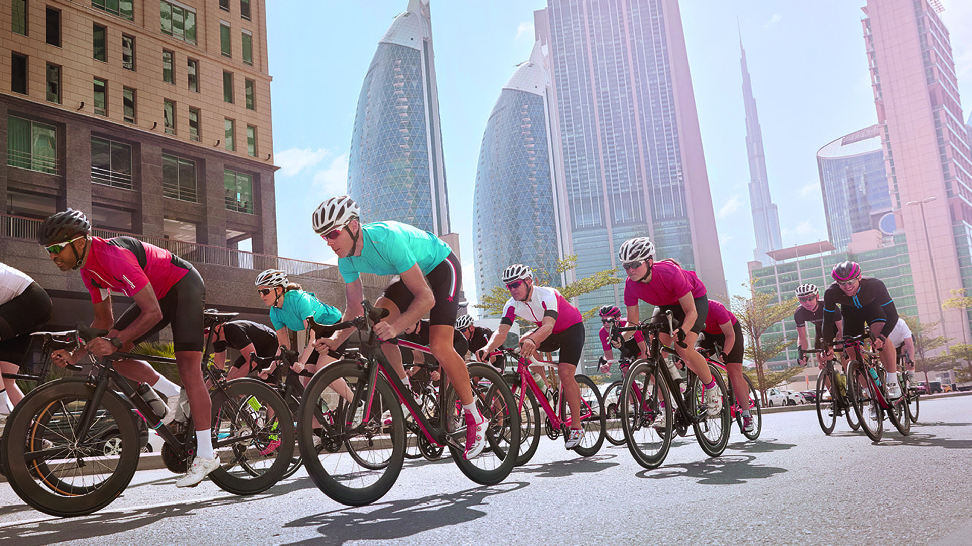 A través de una aplicación se registraron más de 700 mil personas (Dubai Fitness Challenge)