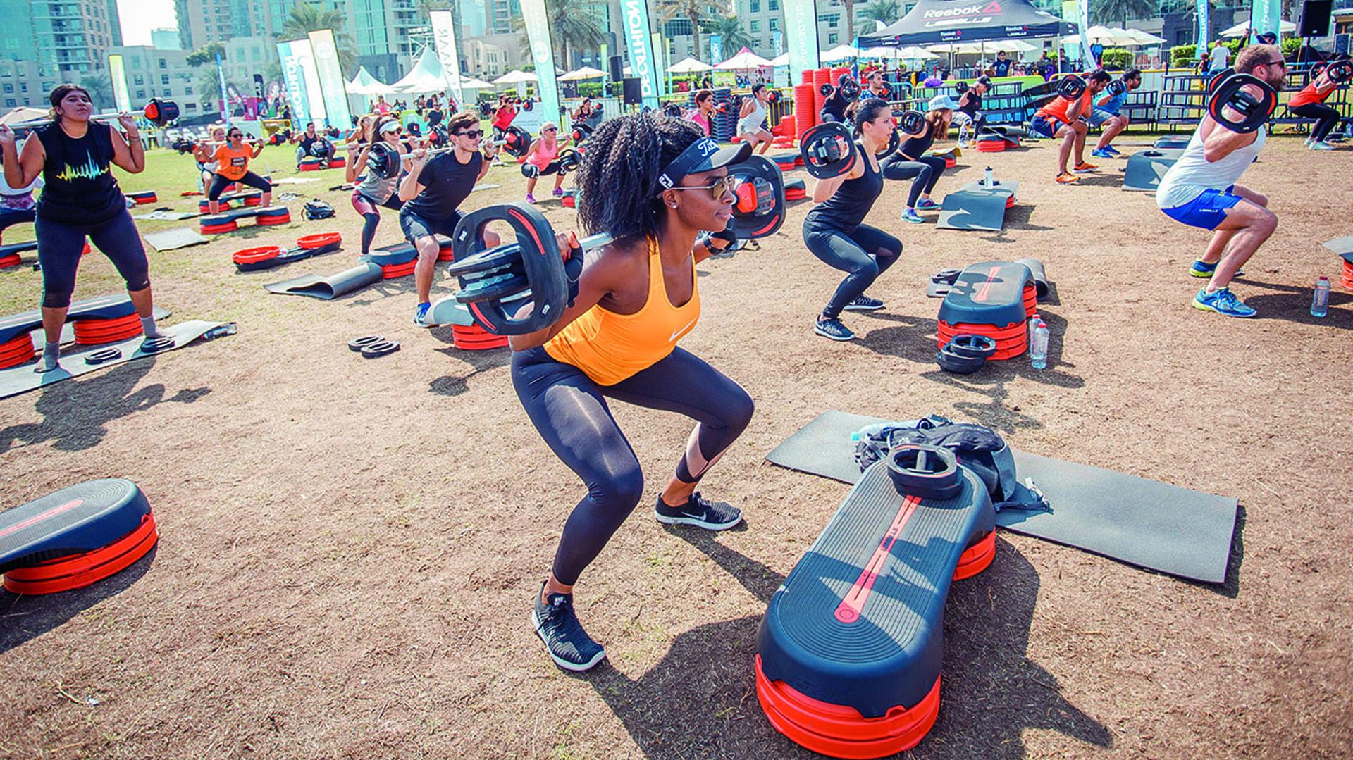 El 44% de los participantes fueron escolares, el 33% trabajadores de corporaciones y el 23%, de entidades gubernamentales (Dubai Fitness Challenge)
