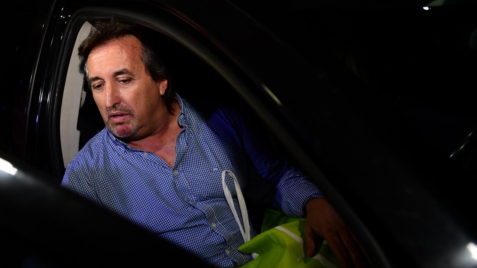 Núñez Carmona recuperó su libertad anoche (Maximiliano Luna)