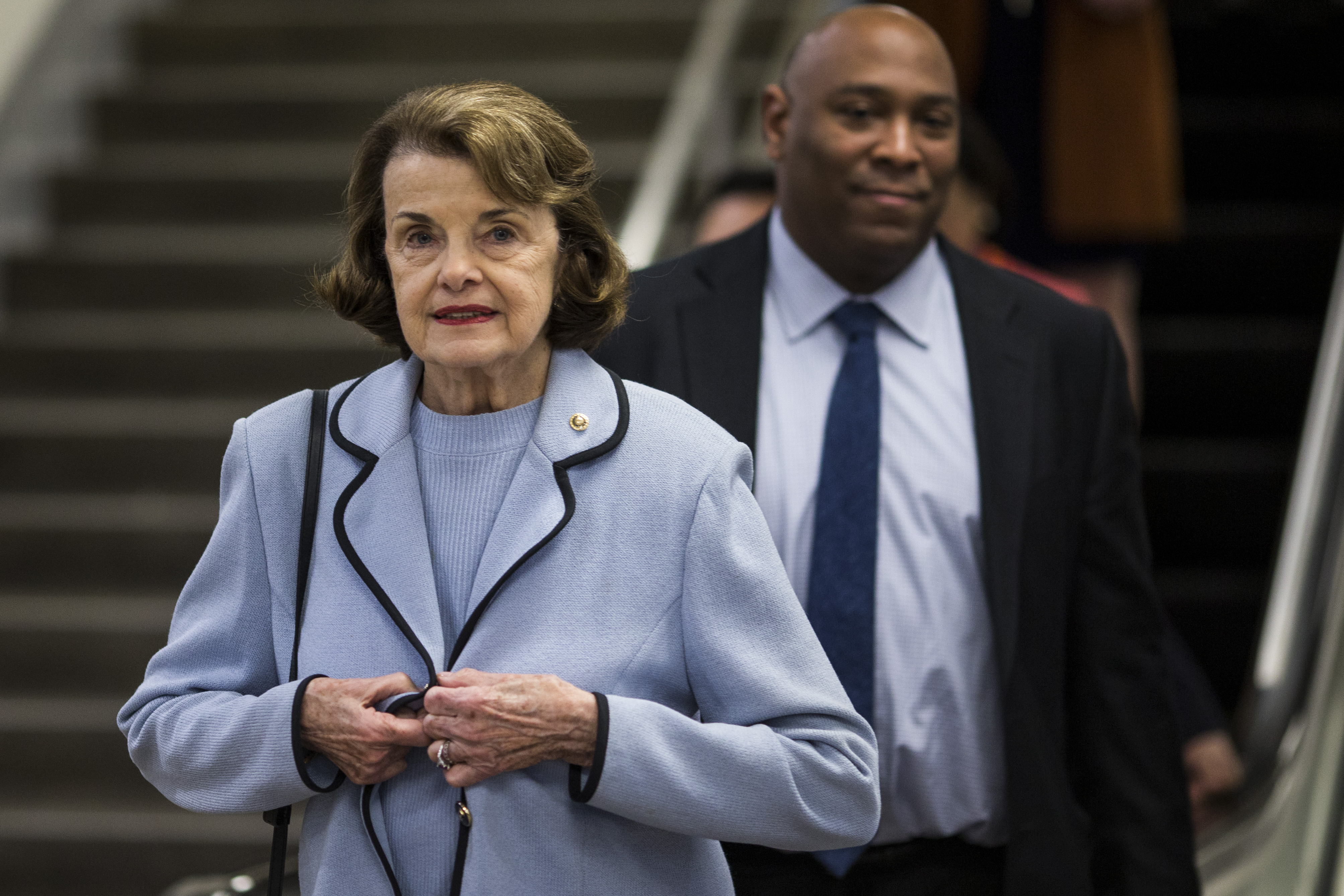 Dianne Feinstein, senadora demócrata . (Zach Gibson/Getty Images/AFP)
