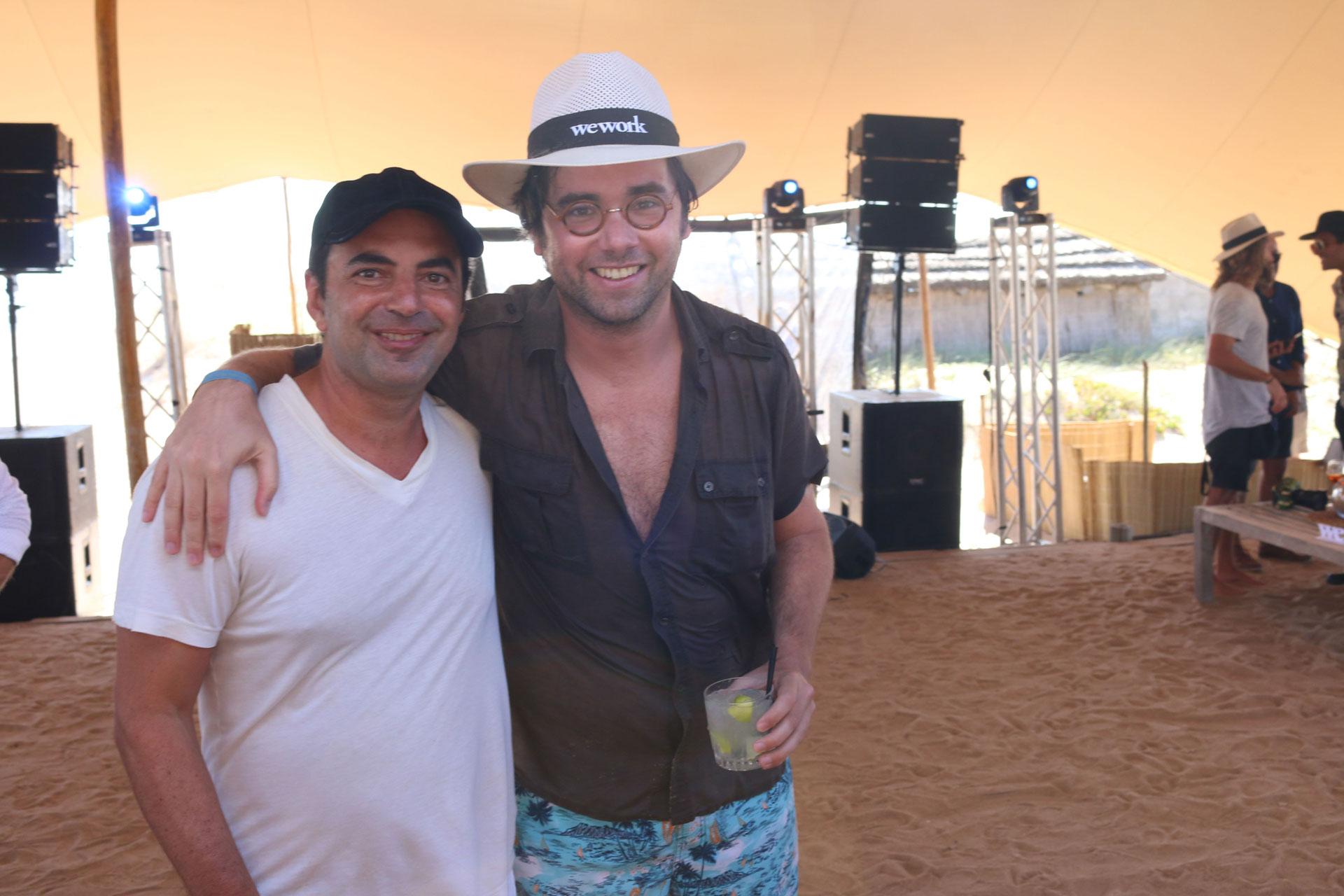 Pato Fuks y Santiago Siri