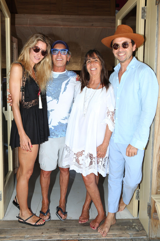 Puli De María, Manuel Lamarca, María Marta Quintana de Boerner y Wally Diamante