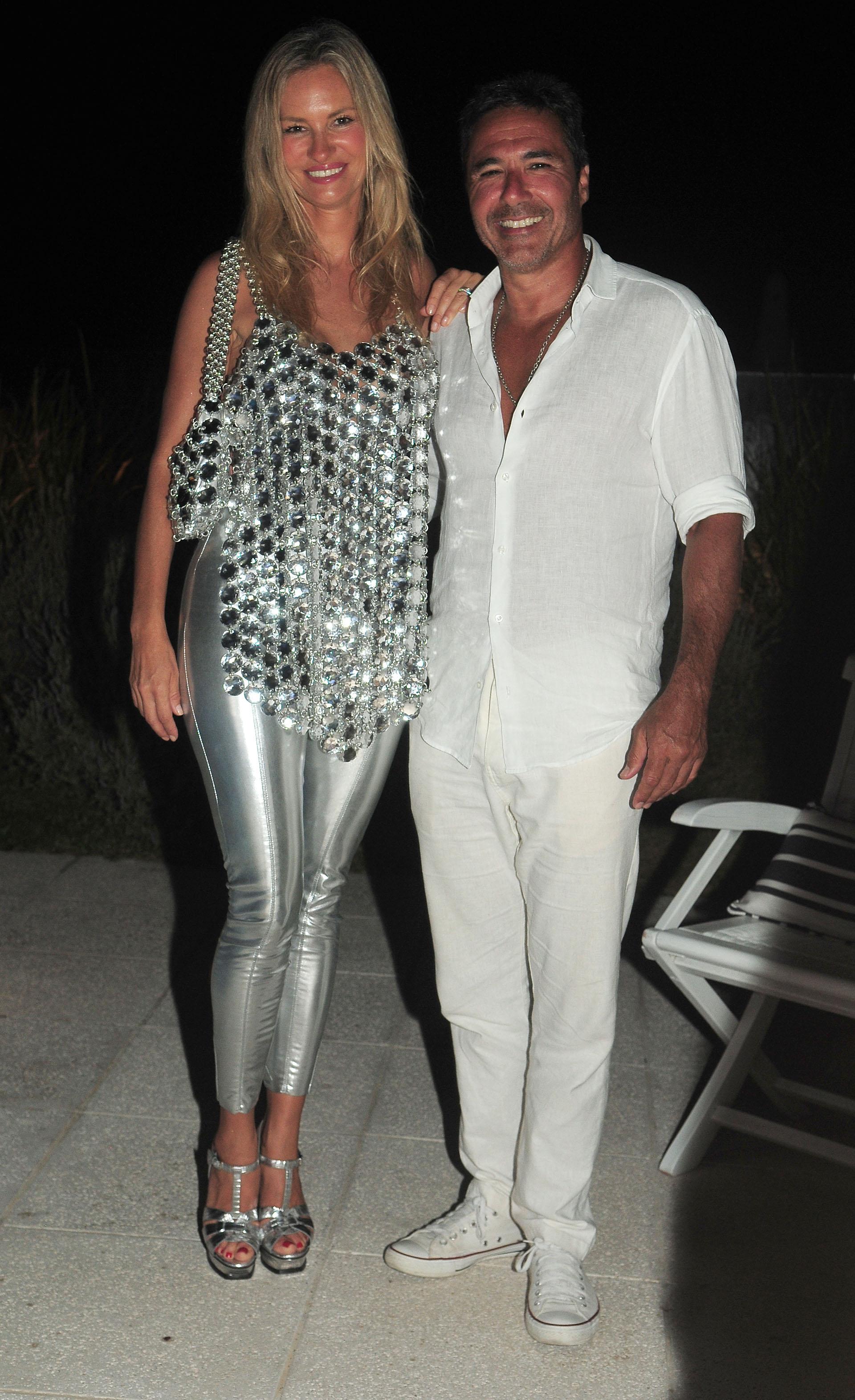 Lily Sciorra y Paul Buenader