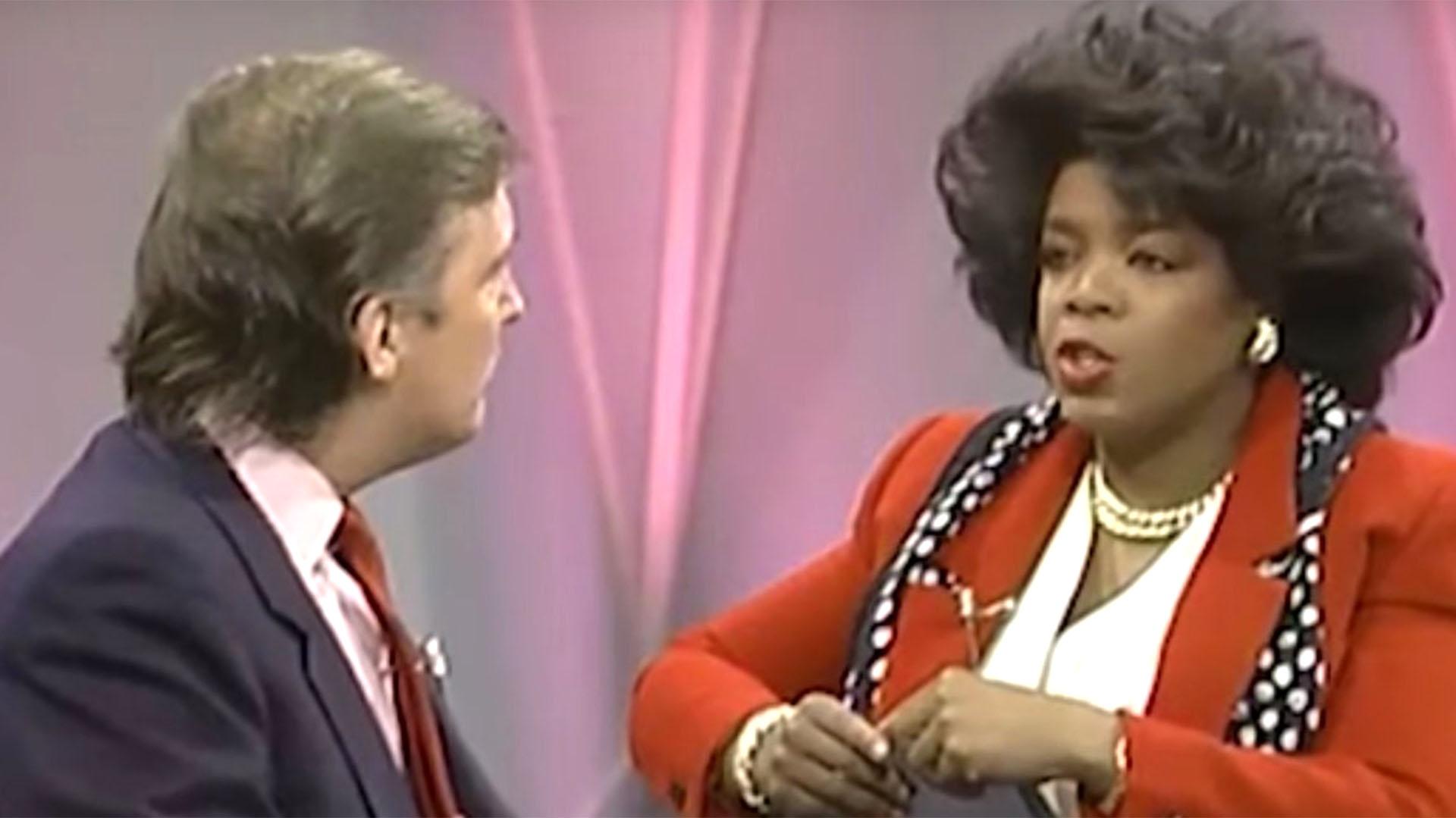 Donald Trump, entrevistado por Oprah Winfrey en 1988