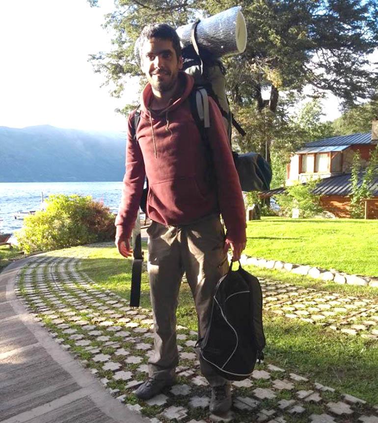 Joaquín Santos Rodríguez practicaba senderismo cuando desapareció en la zona del cerro Tronador