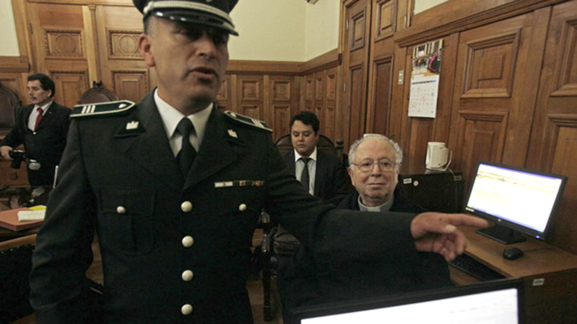 Fernando Karadima ante la Justicia (AP)