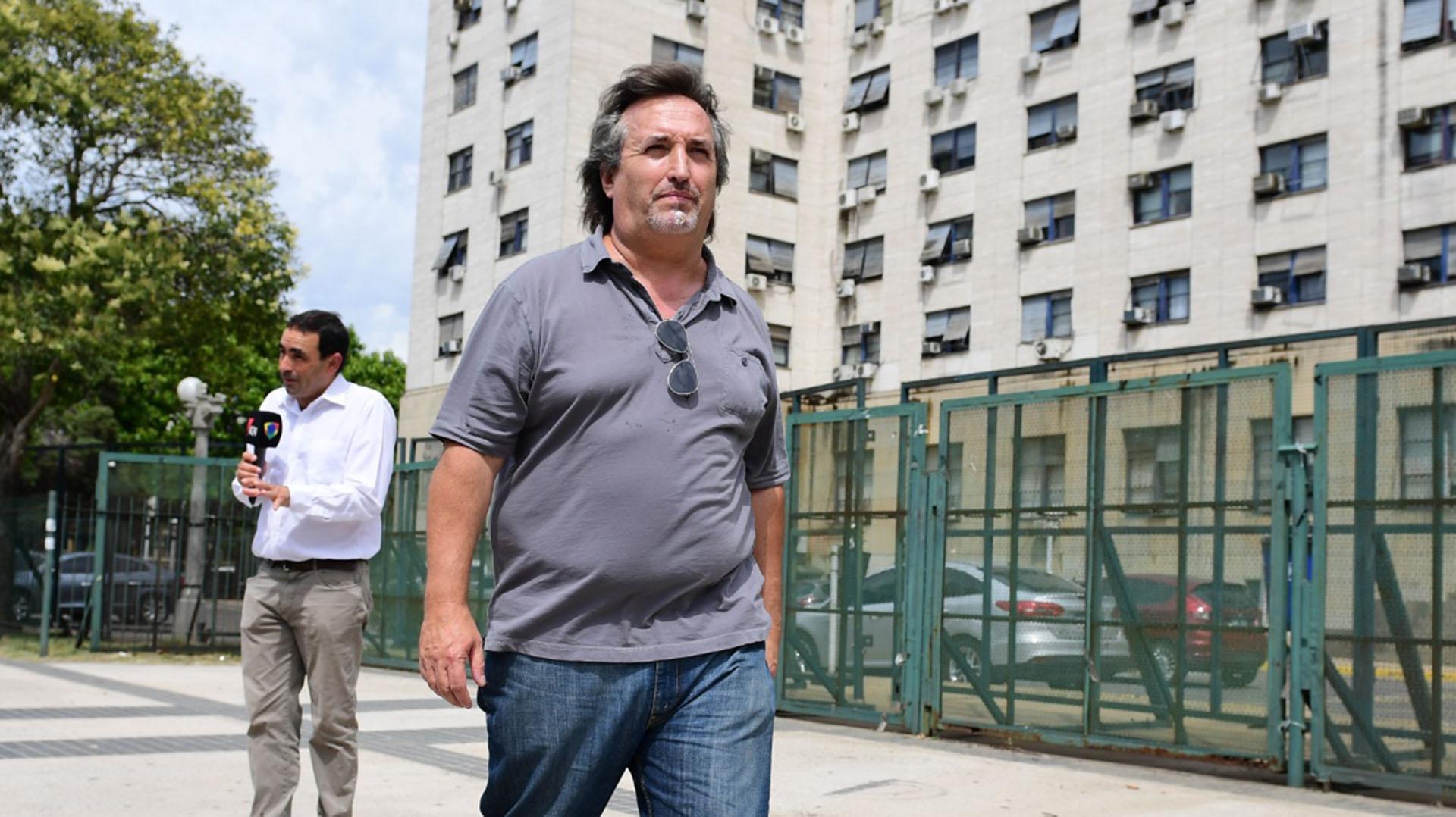 Archivo: Núñez Carmona en Comodoro Py (Maximiliano Luna)