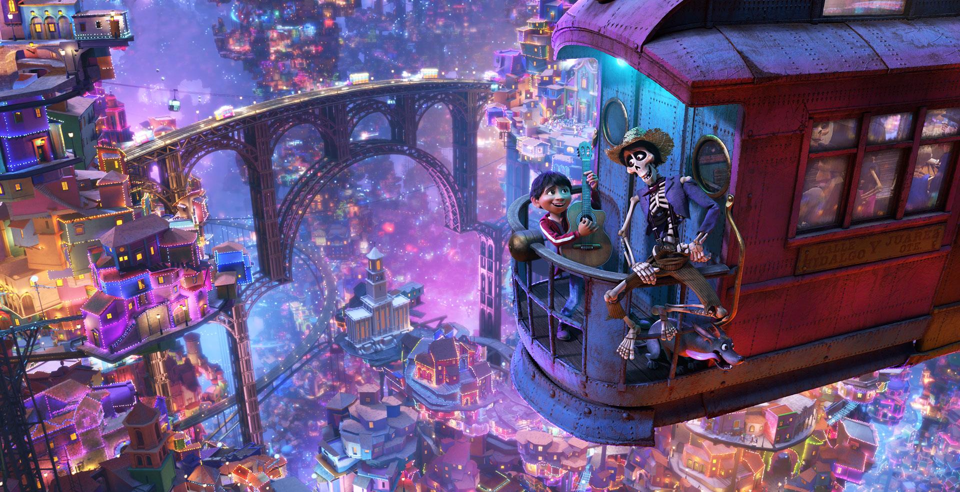 Una escena de COOC. Foto: Disney-Pixar