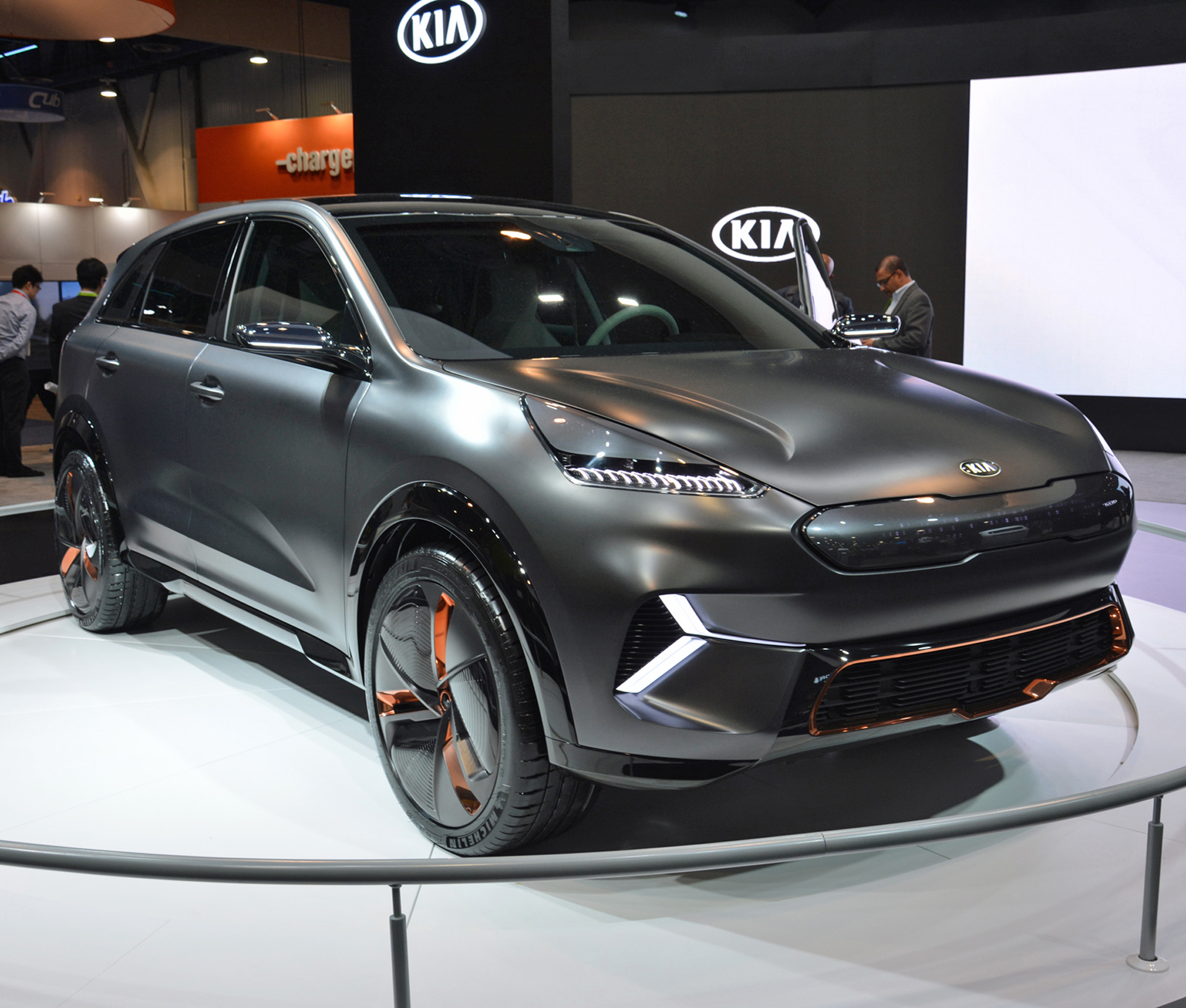El Niro EV comenzará a producirse a partir del año próximo para completar la gama del modelo insignia de Kia