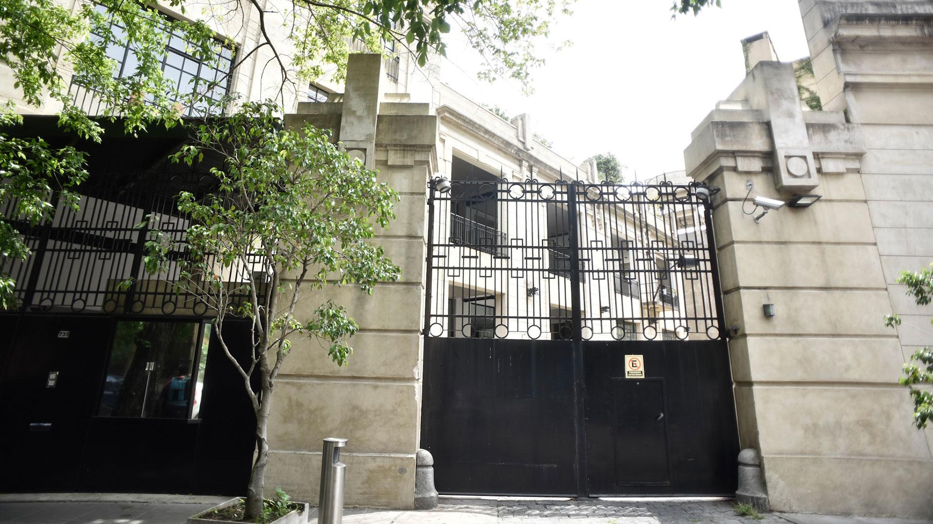 La casa de Barracas en la que vivirá Boudou (Adrián Escandar)