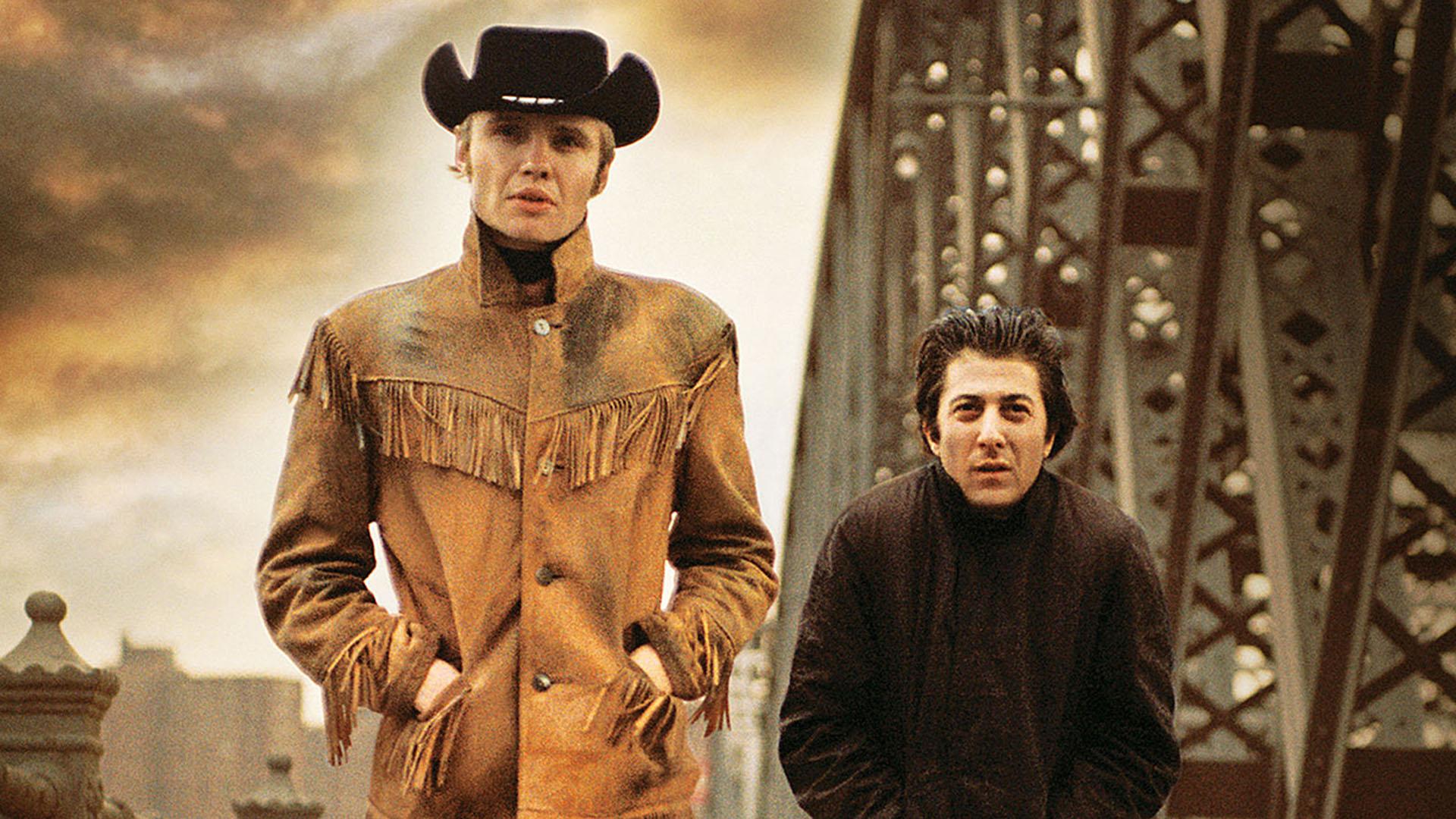 """Midnight Cowboy"", con John Voight y Dustin Hoffman"