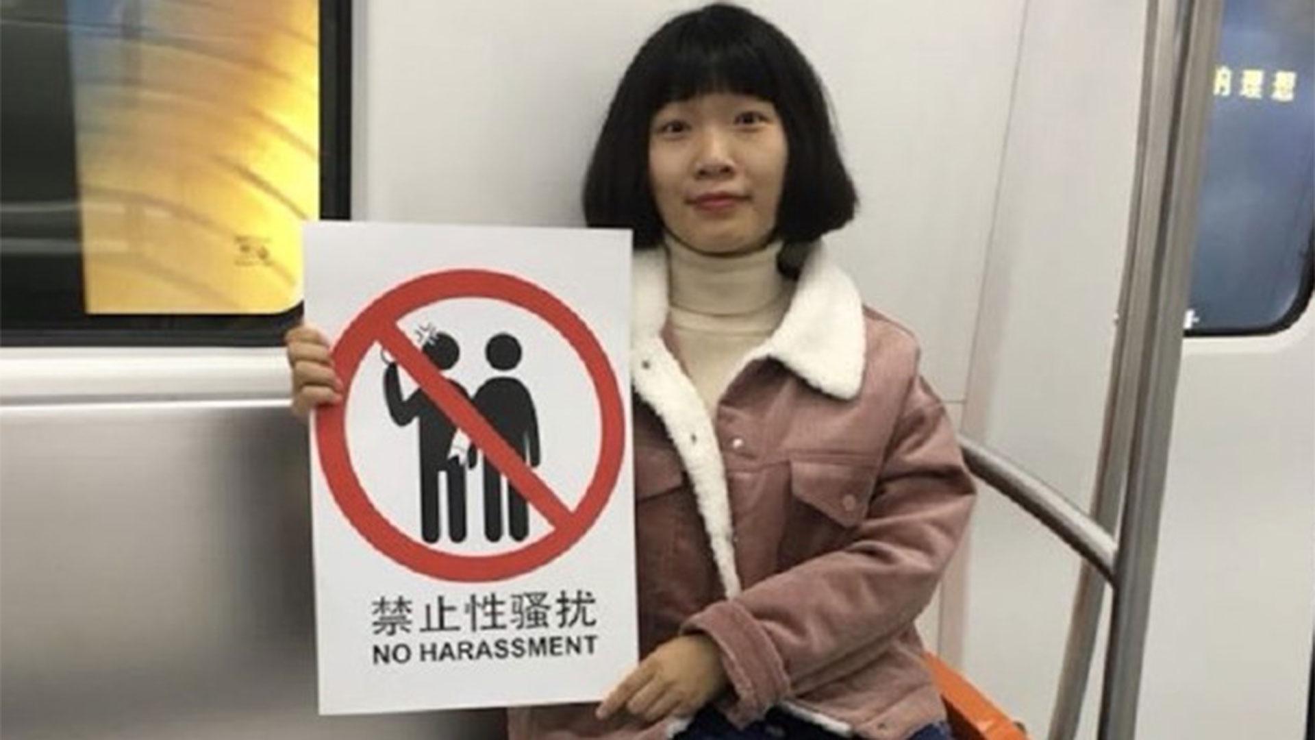 El acoso sexual es un problema crónico en el transporte público de China