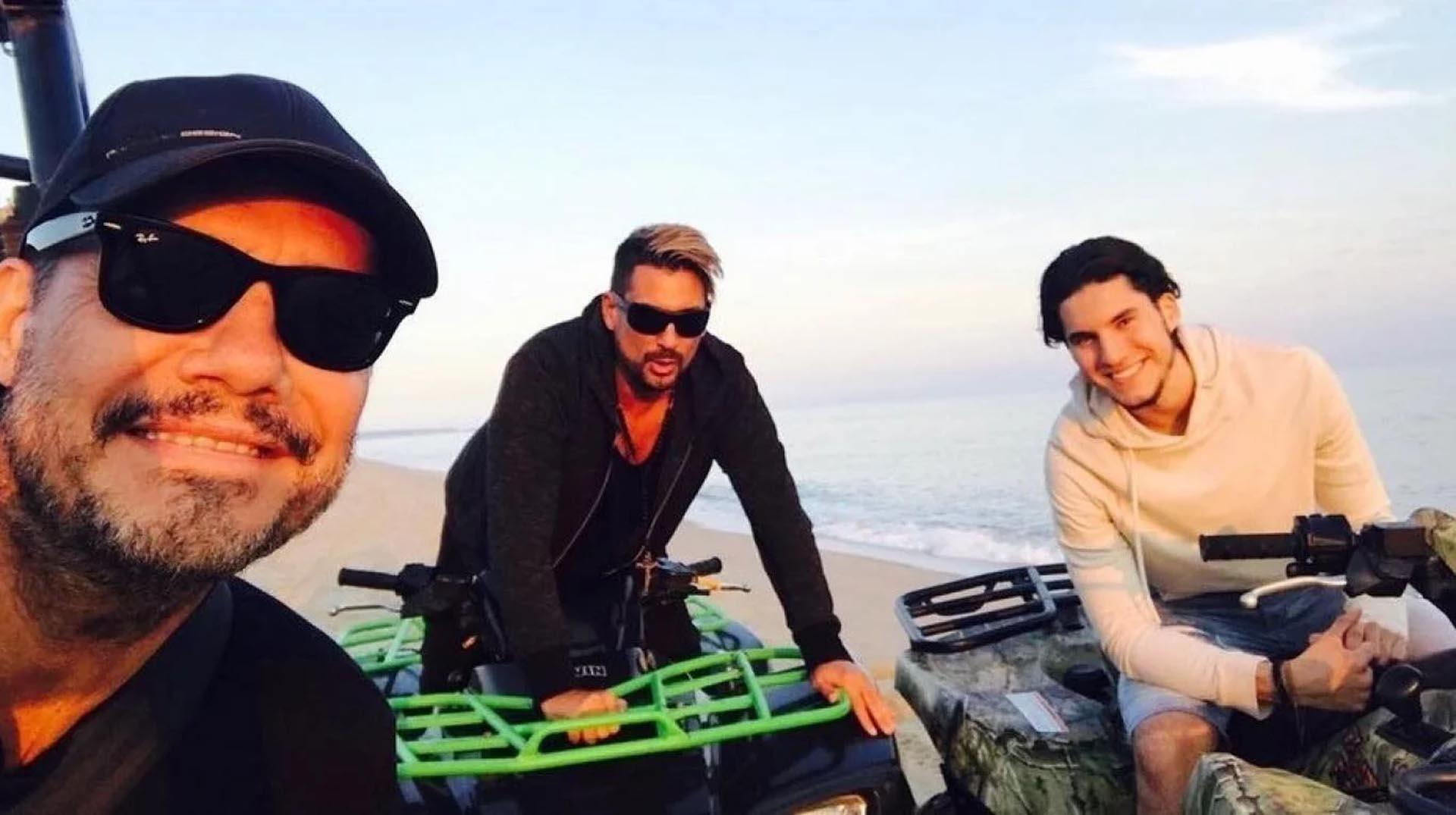 Multaron a Fran Tinelli por manejar un cuatriciclo en las dunas uruguayas