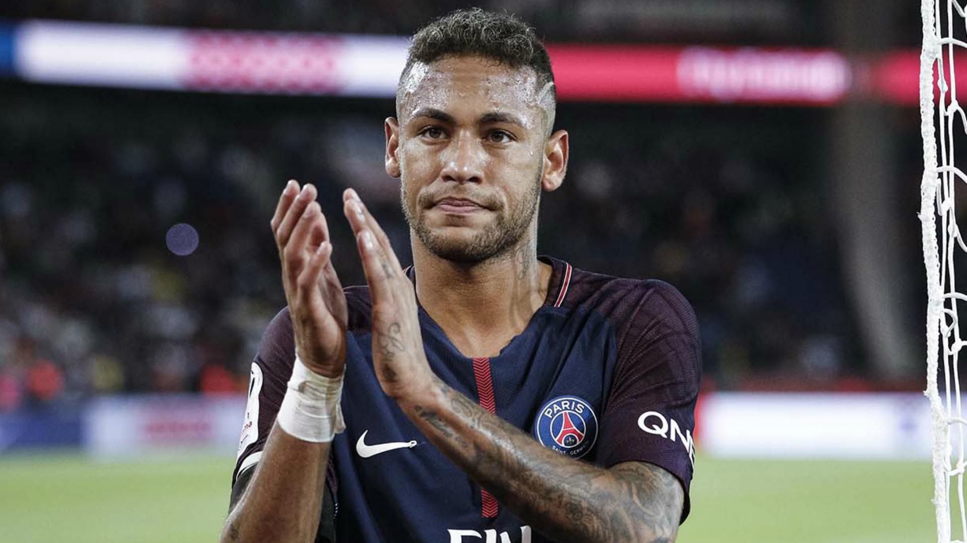 Neymar, jugador del PSG de Francia