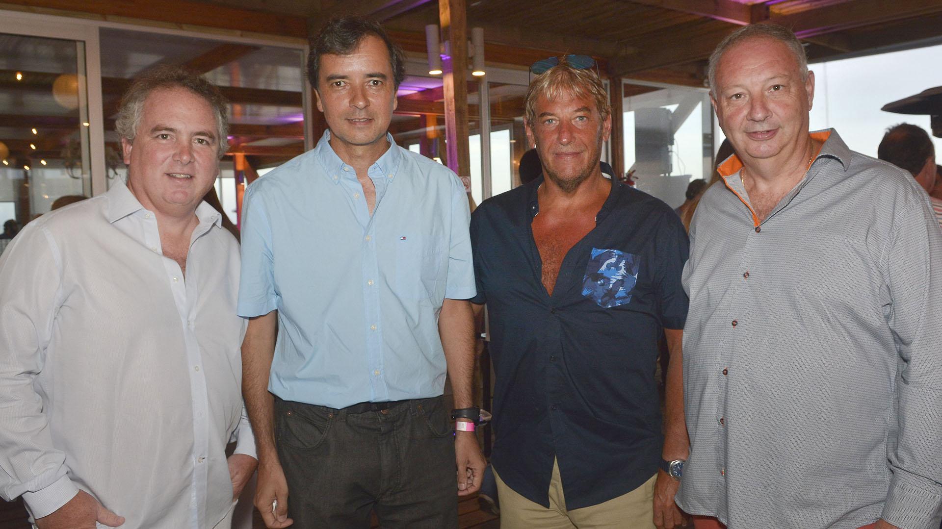 Eduardo Estrada, Carlos Casto, Dr Luxemburg y Edgardo Bovo.