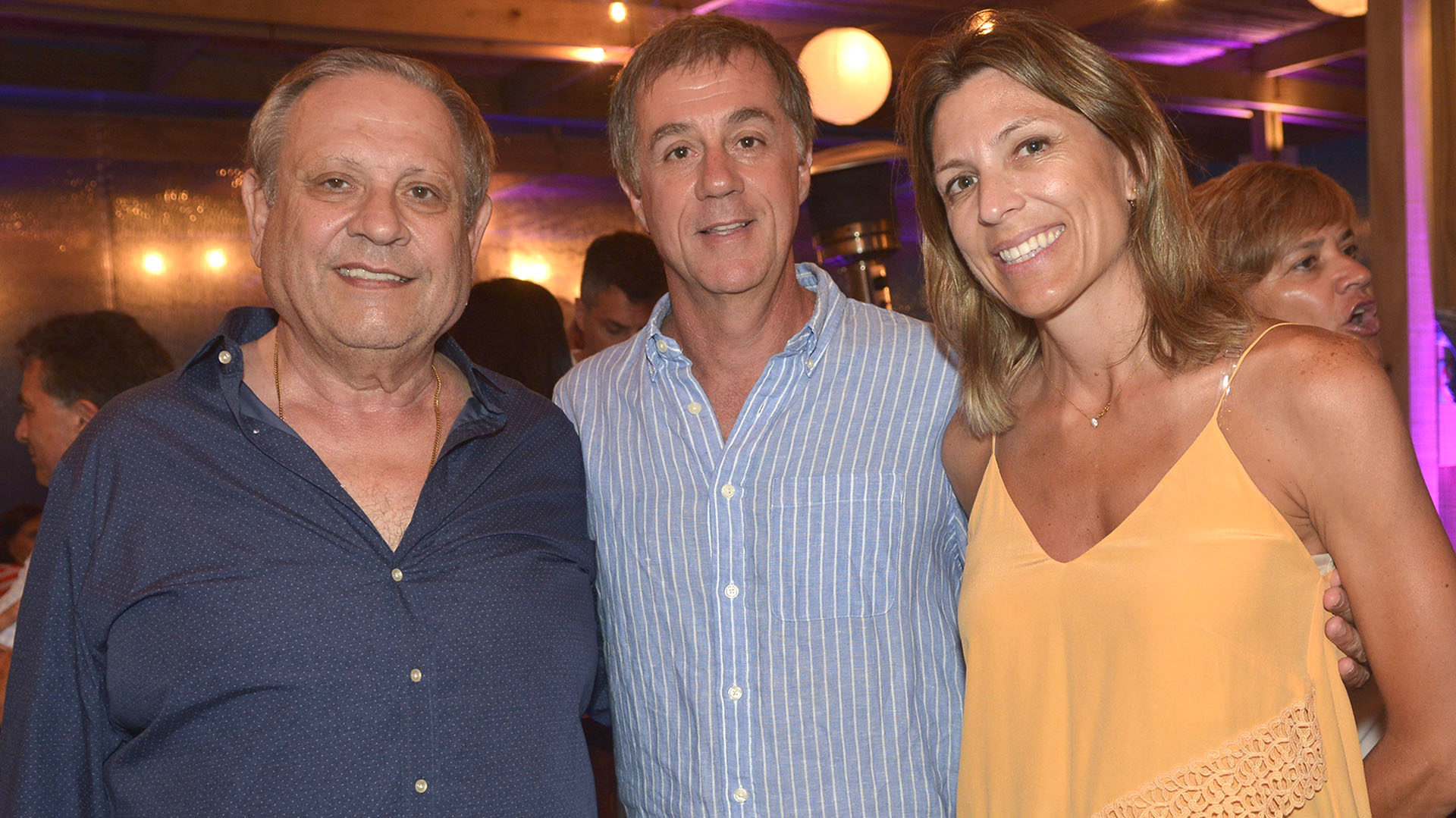 Nestor Abatidaba, Fernando Cinalli e Isella Constantini.