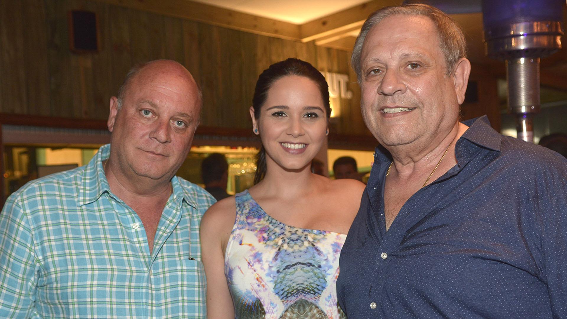 Martin Cabrales, Natali Marquez y Nestor Abatidaga.