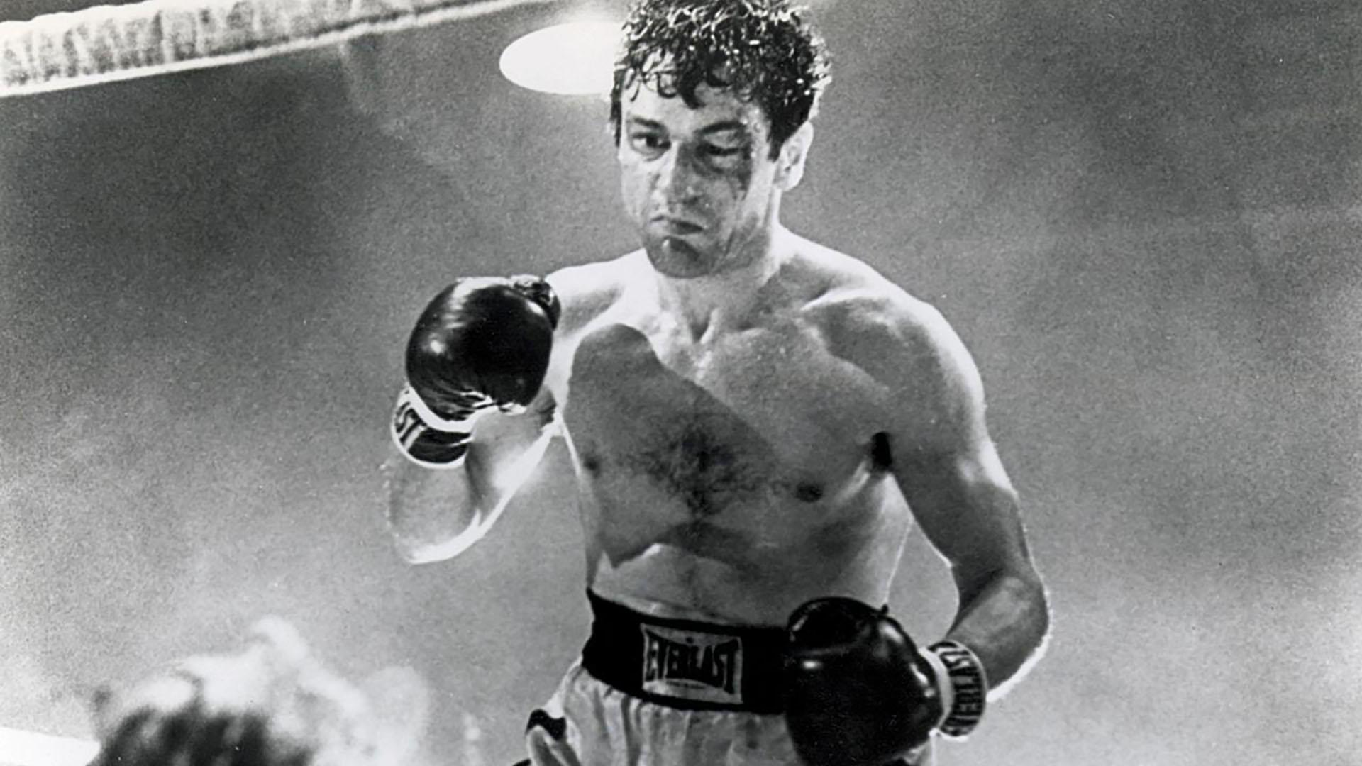 """De Niro encarnando a La Motta en """"Toro Salvaje"""""""