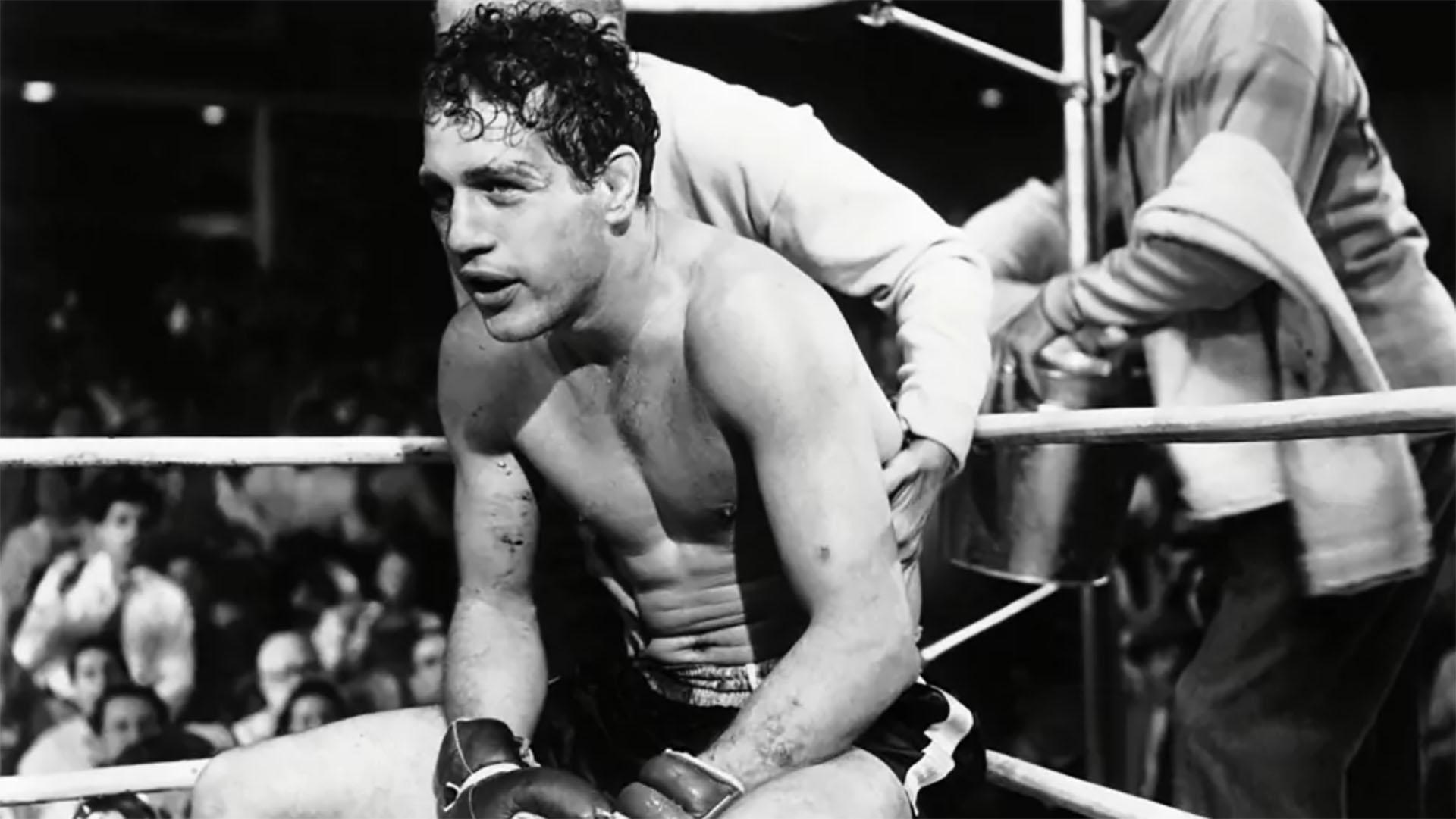 """""""El estigma del arroyo"""" contaba la vida de Rocky Graziano"""