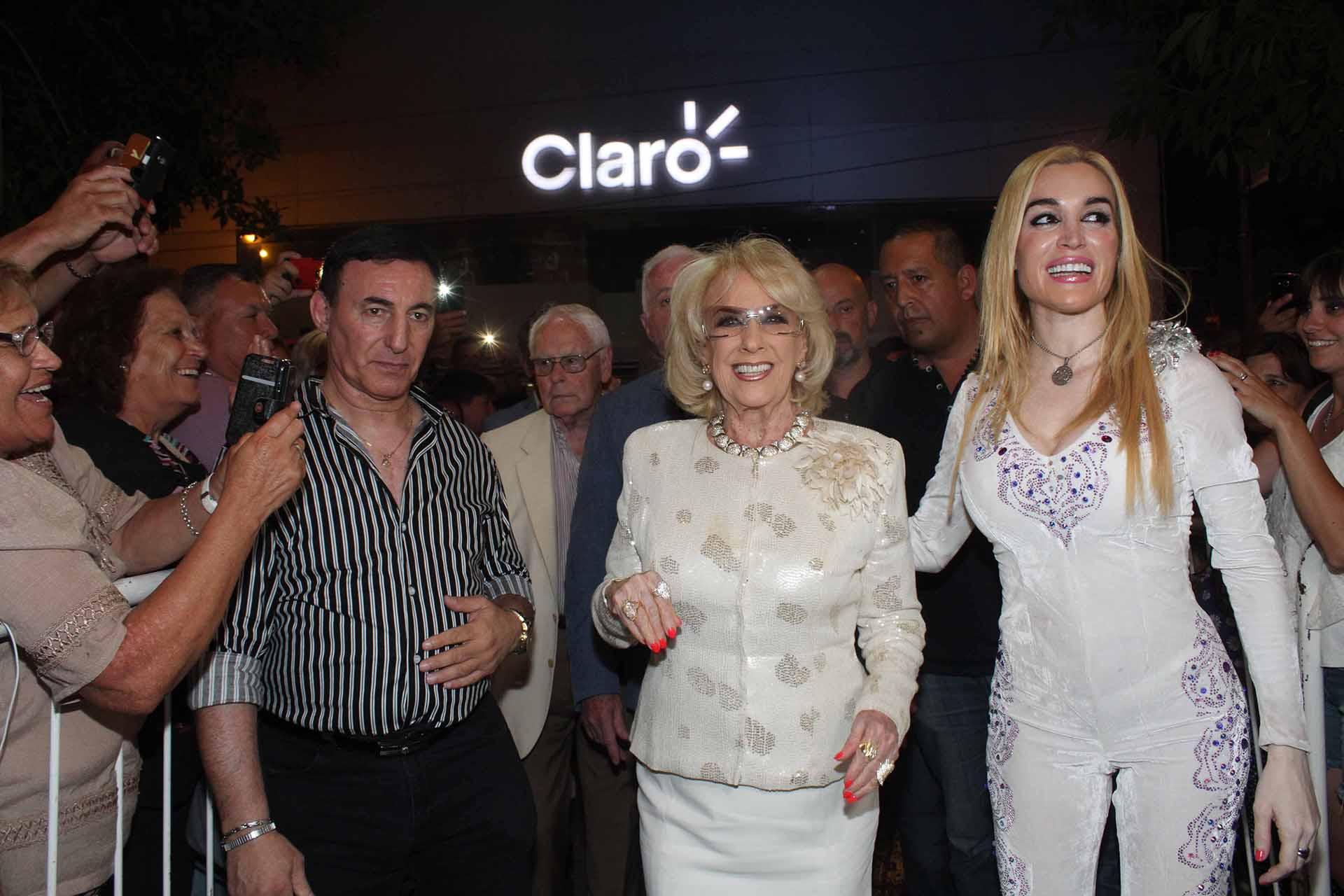 Norberto Mracos (esposo de Fátima), Mirtha Legrand y la humorista