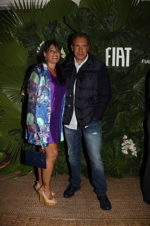 El fundador de Infobae, Daniel Hadad, y su mujer Viviana Zocco