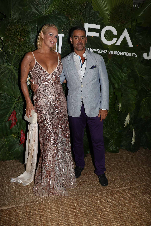 Andrea Garmendia y Luis González Arce