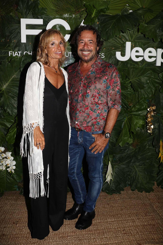 Graciela Papini y Ricky Sarkany