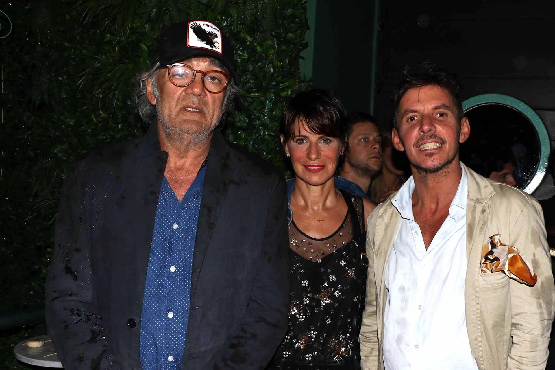 Osvaldo Brucco, Paola Pravato y Gerard Confalonieri