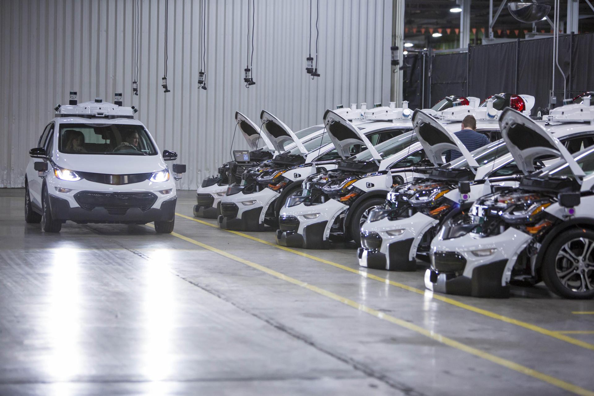 El Chevrolet Cruze se fabrica en la planta de Alvear