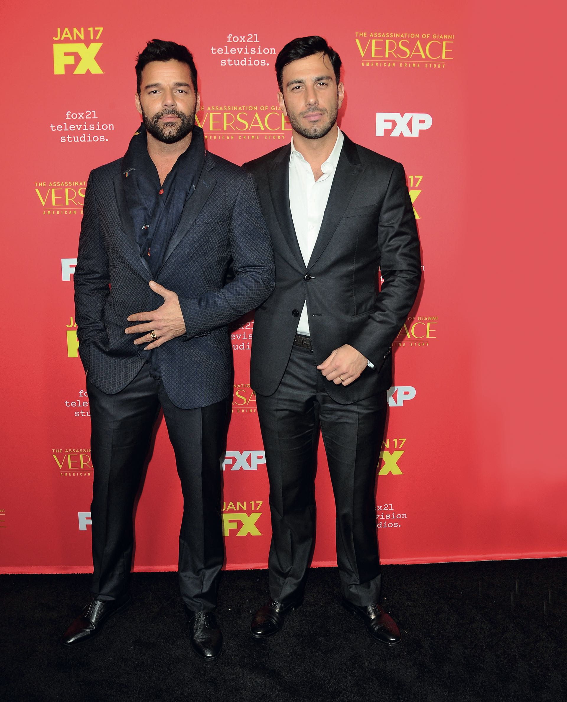 En la presentación de The assassination of Gianni Versace, serie de FX donde el cantante interpreta al novio del diseñador italiano. Foto © 2018 Startraks Photo/The Grosby Group