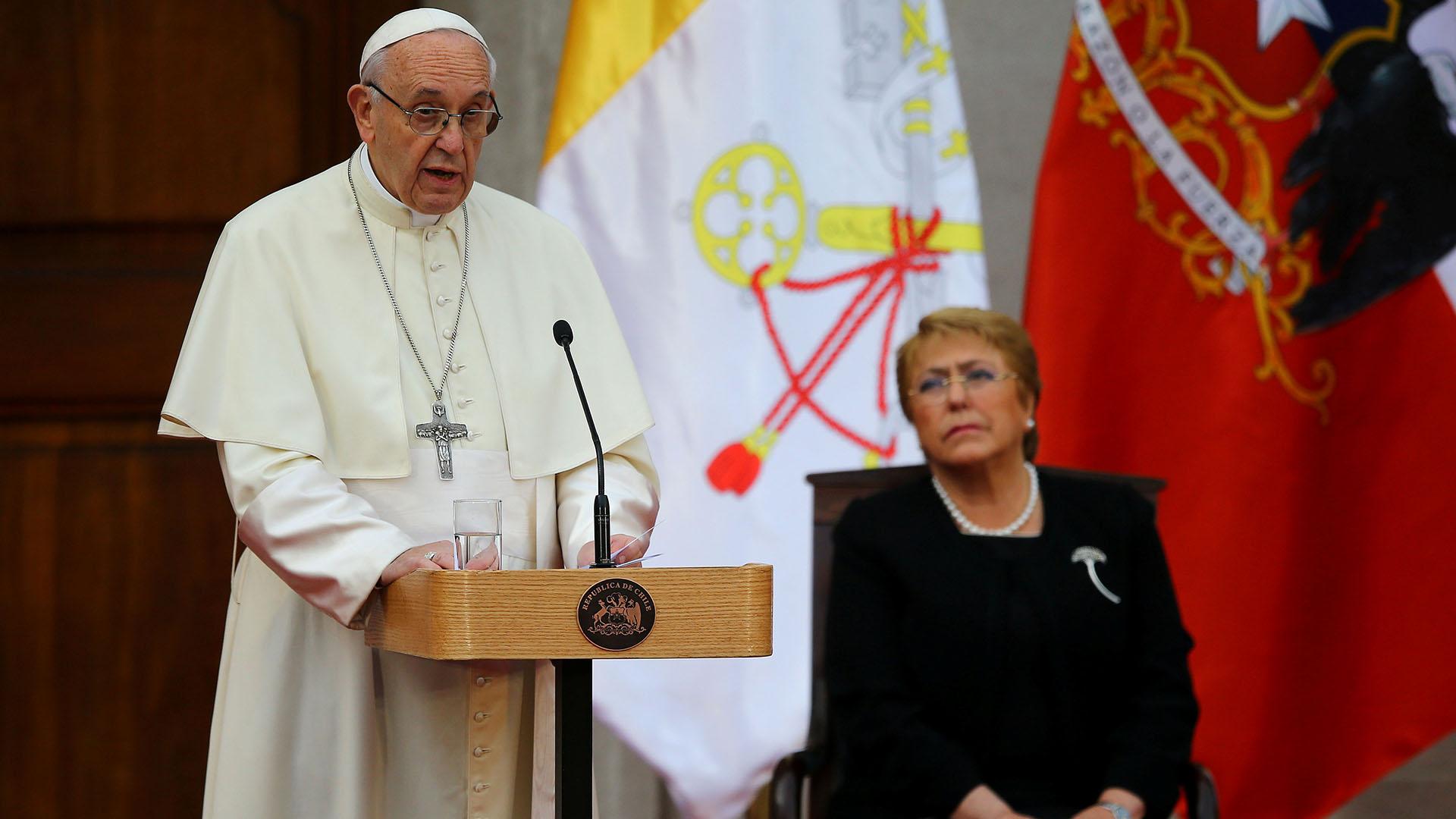 Resultado de imagen para papa francisco en chile