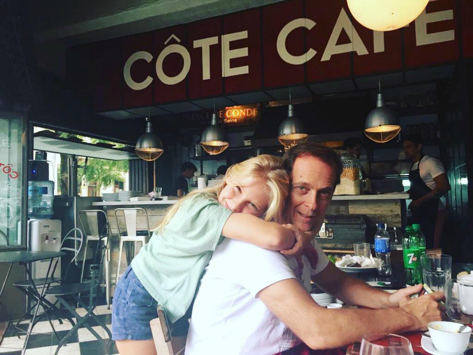 Mía es la única hija mujer del periodista y conductor, quien además es papá de Luca (junto a Nancy Duplaá) y Alejo (con Graciano).( Foto: Instagram)